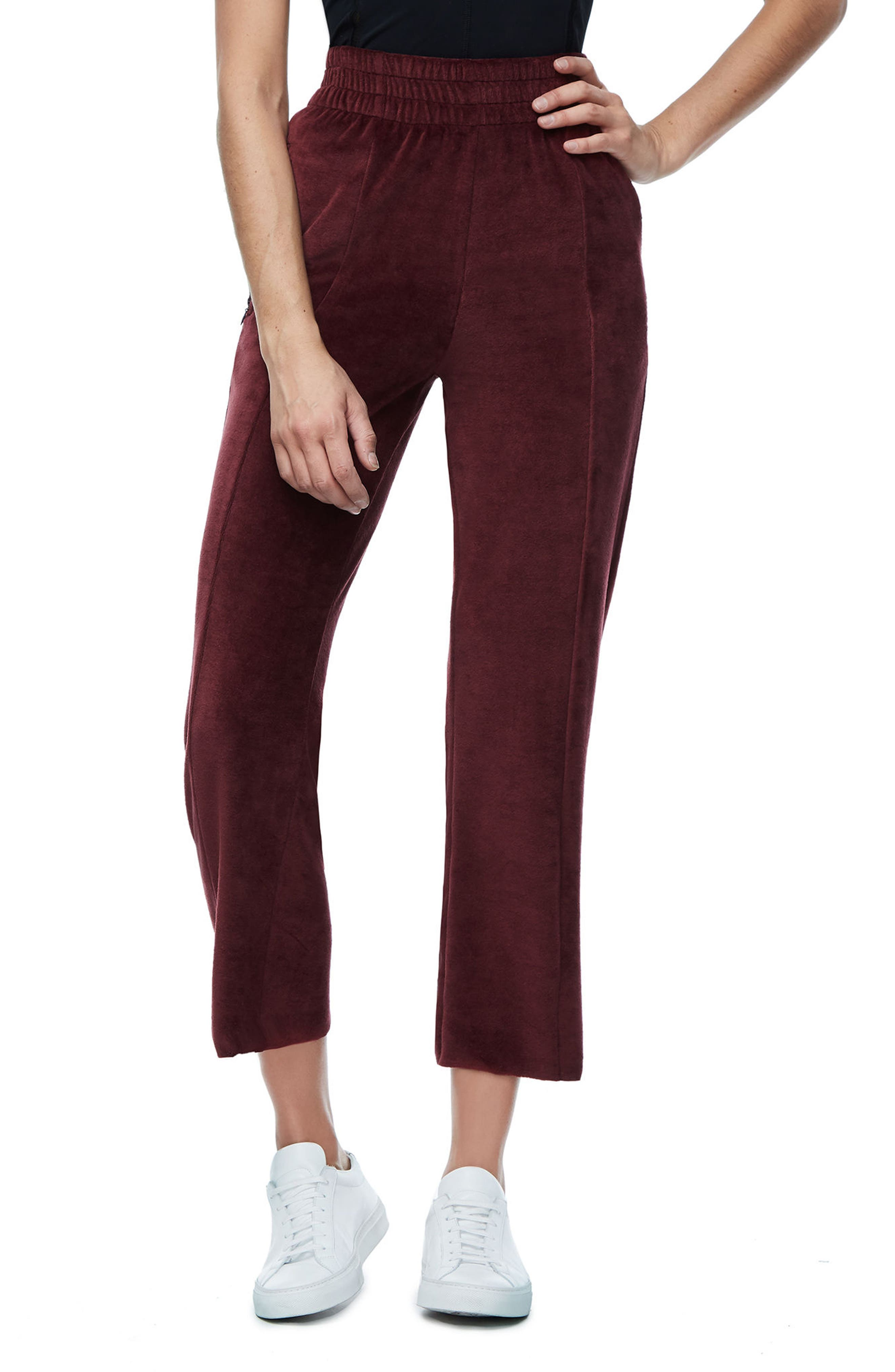 Alternate Image 1 Selected - Good American Good Sweats The High Waist Sweatpants (Extended Sizes)