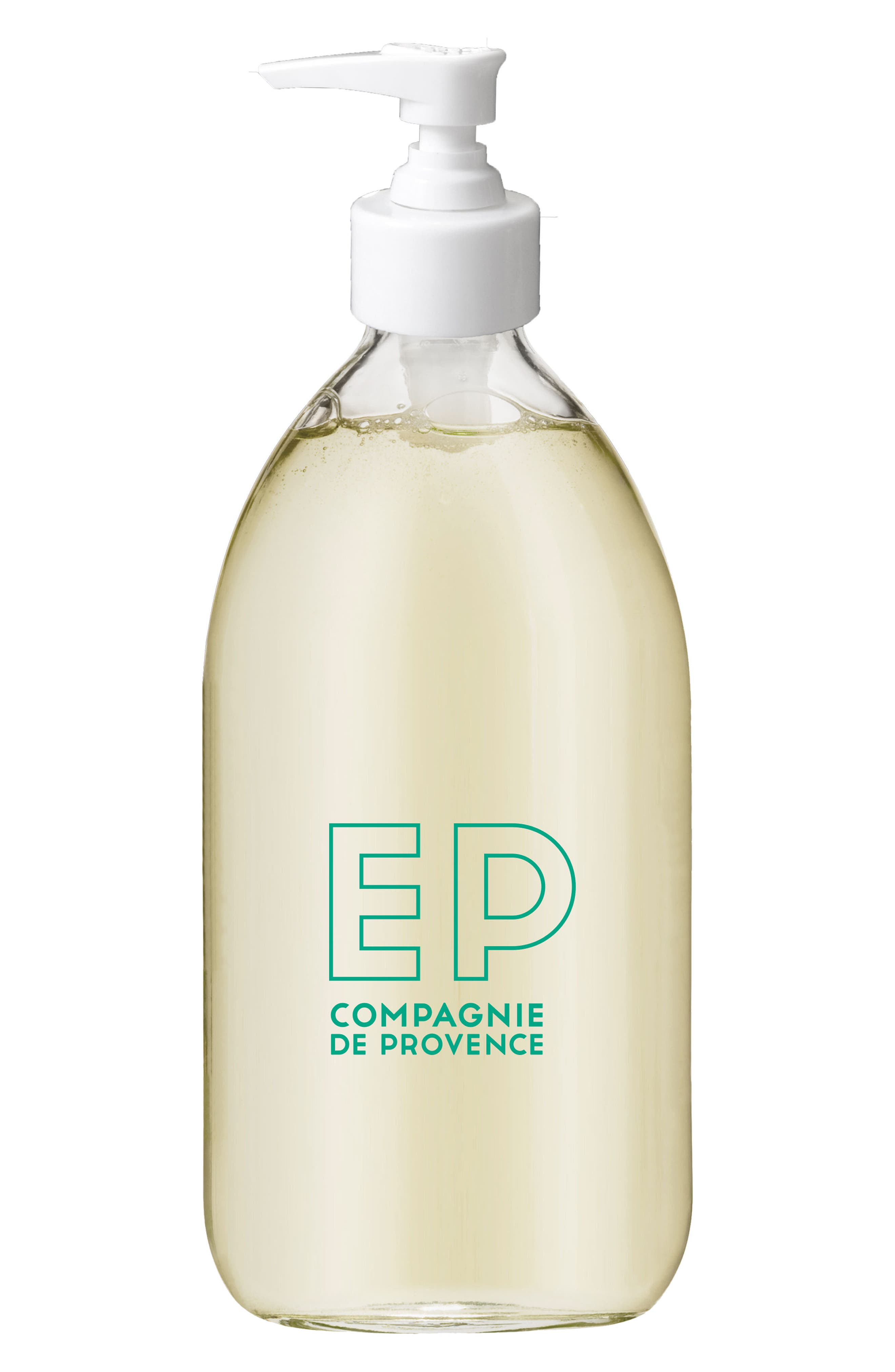Alternate Image 2  - Compagnie de Provence Mint Tea Liquid Marseille Soap