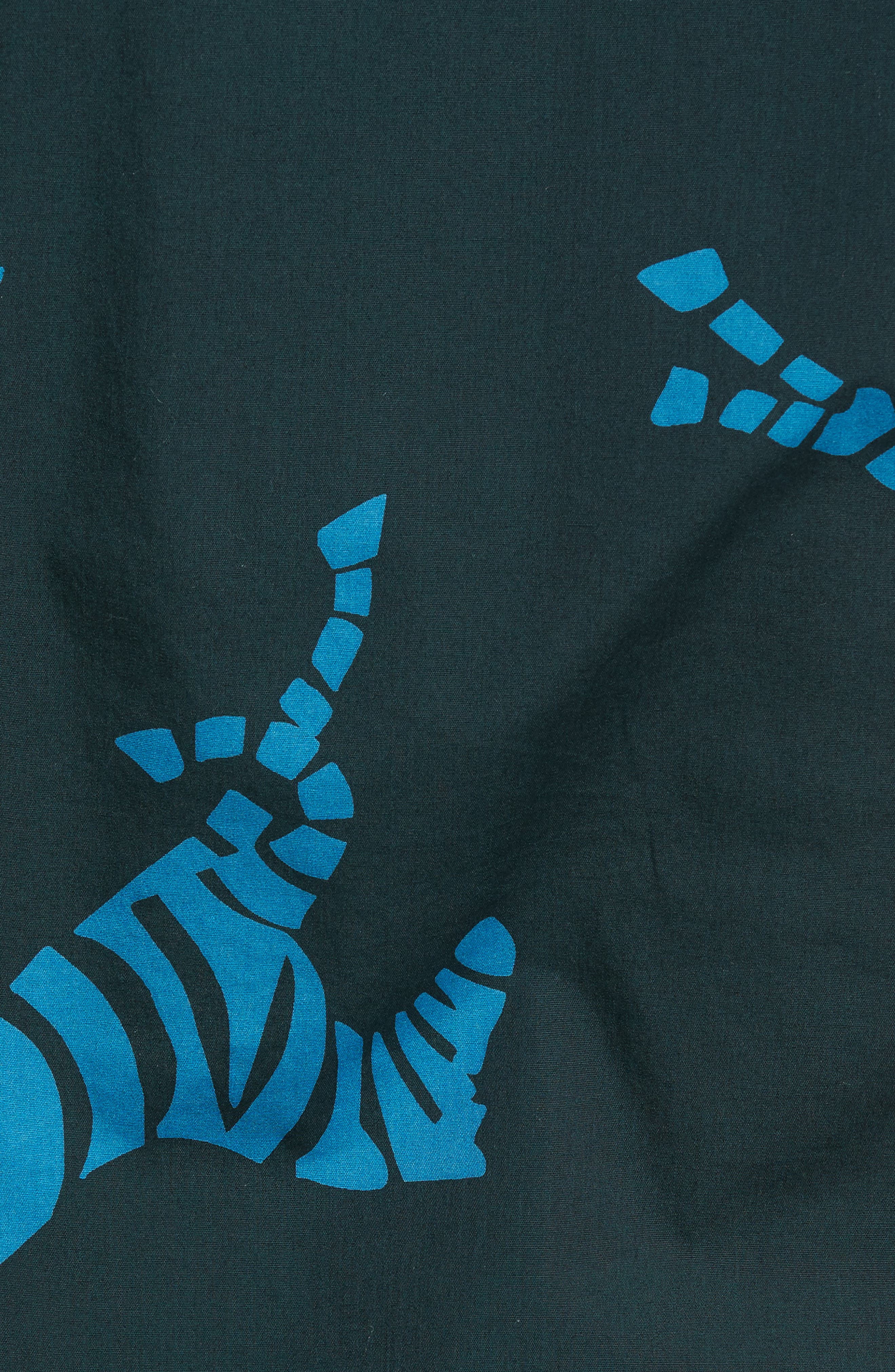 Alternate Image 5  - Bonobos Slim Fit Zebra Sport Shirt