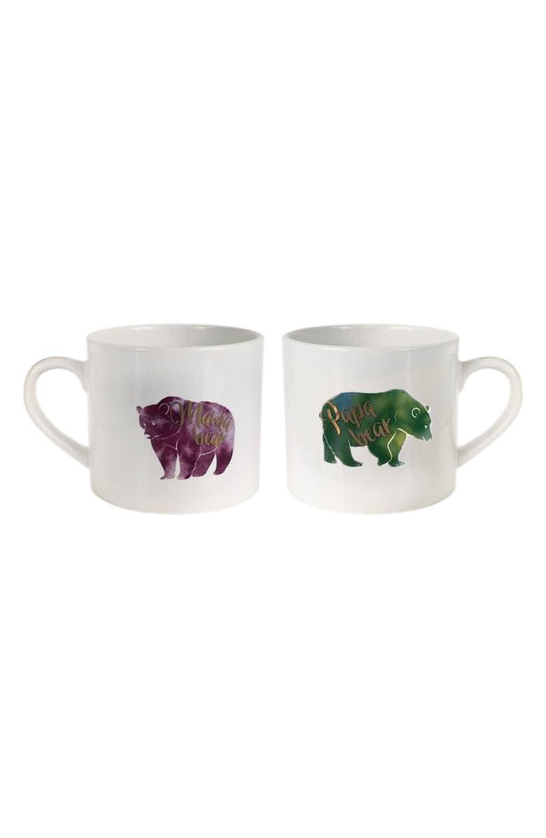Papa Bear & Mama Bear Set of 2 Mugs