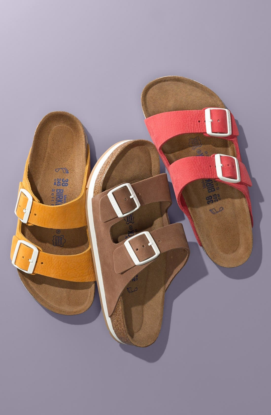 'Arizona' Soft Footbed Sandal,                             Alternate thumbnail 5, color,