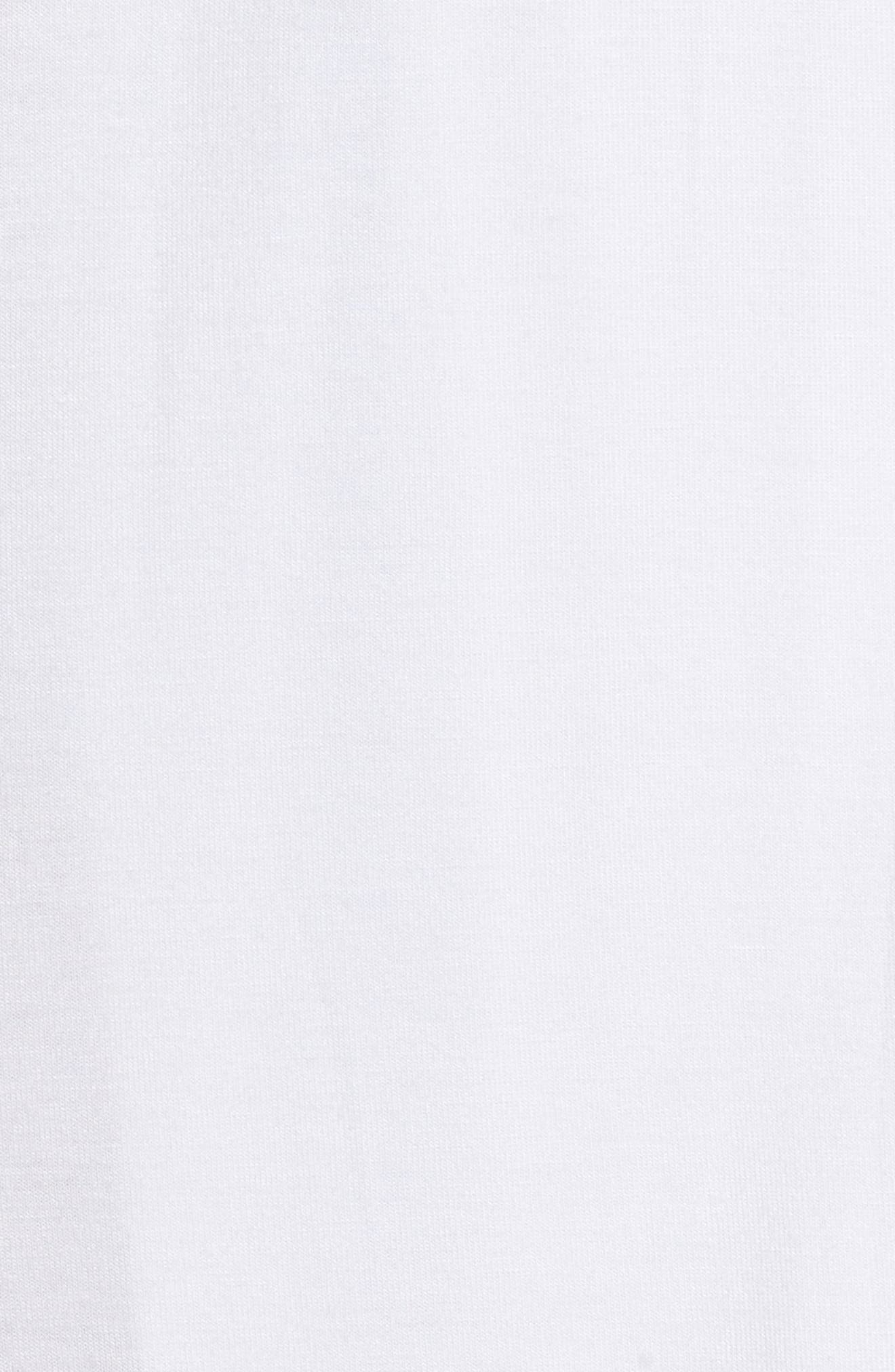 Aldridge Short Robe,                             Alternate thumbnail 6, color,                             Cream