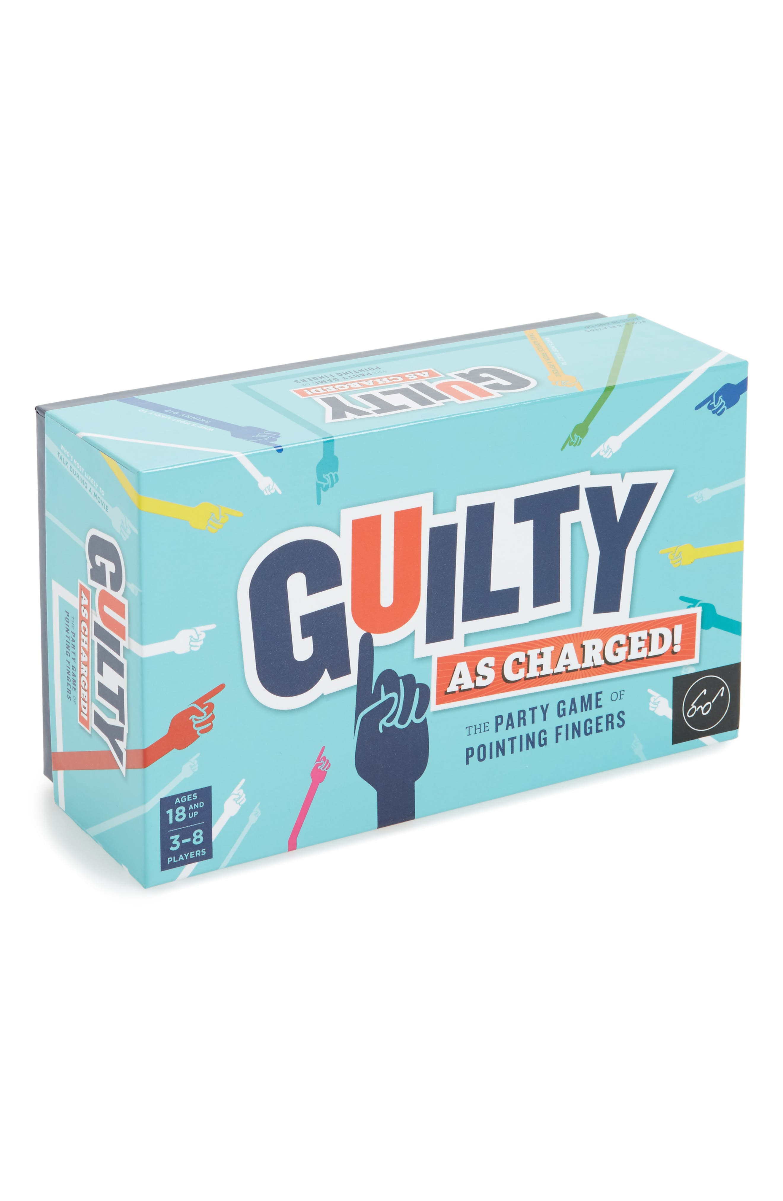 Guilty as Charged Game,                         Main,                         color, Blue