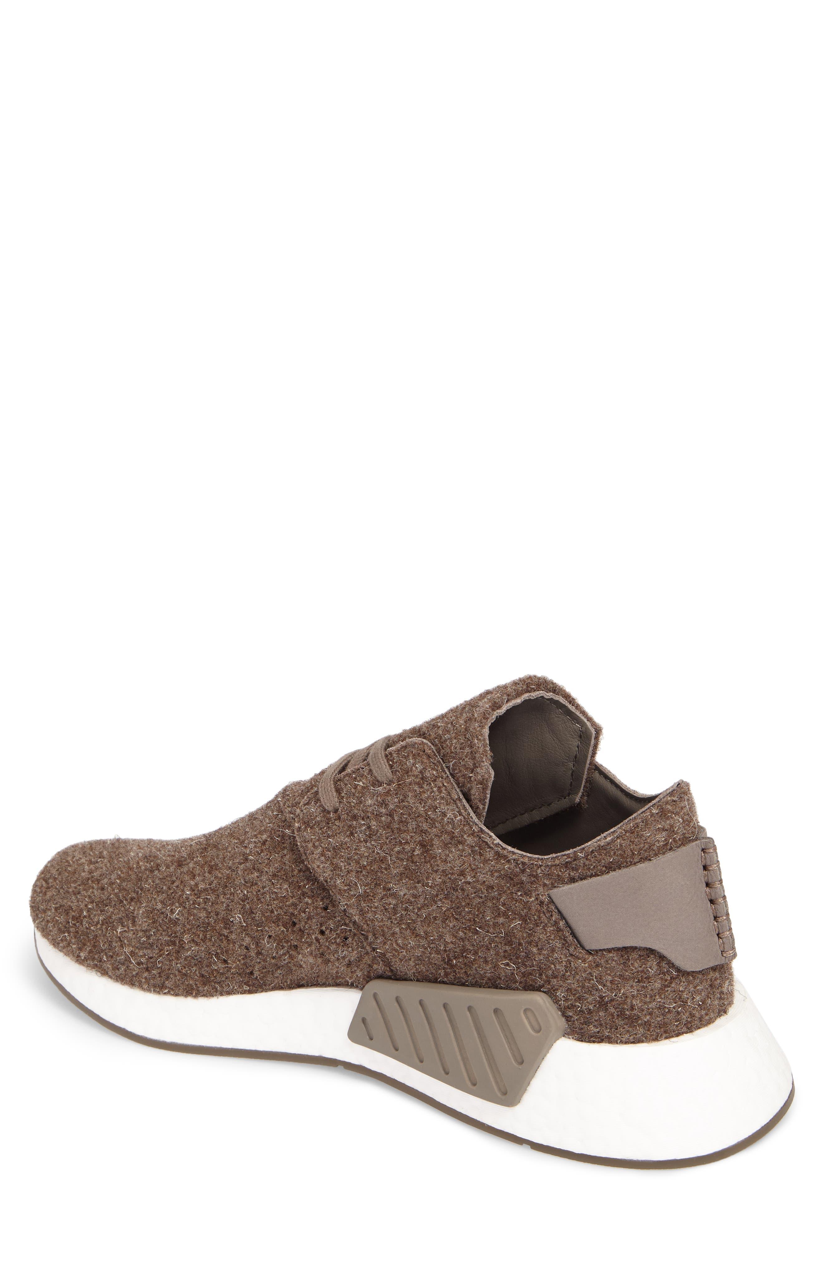 NMD C2 Sneaker (Men0,                             Alternate thumbnail 2, color,                             Simple Brown/ Gum
