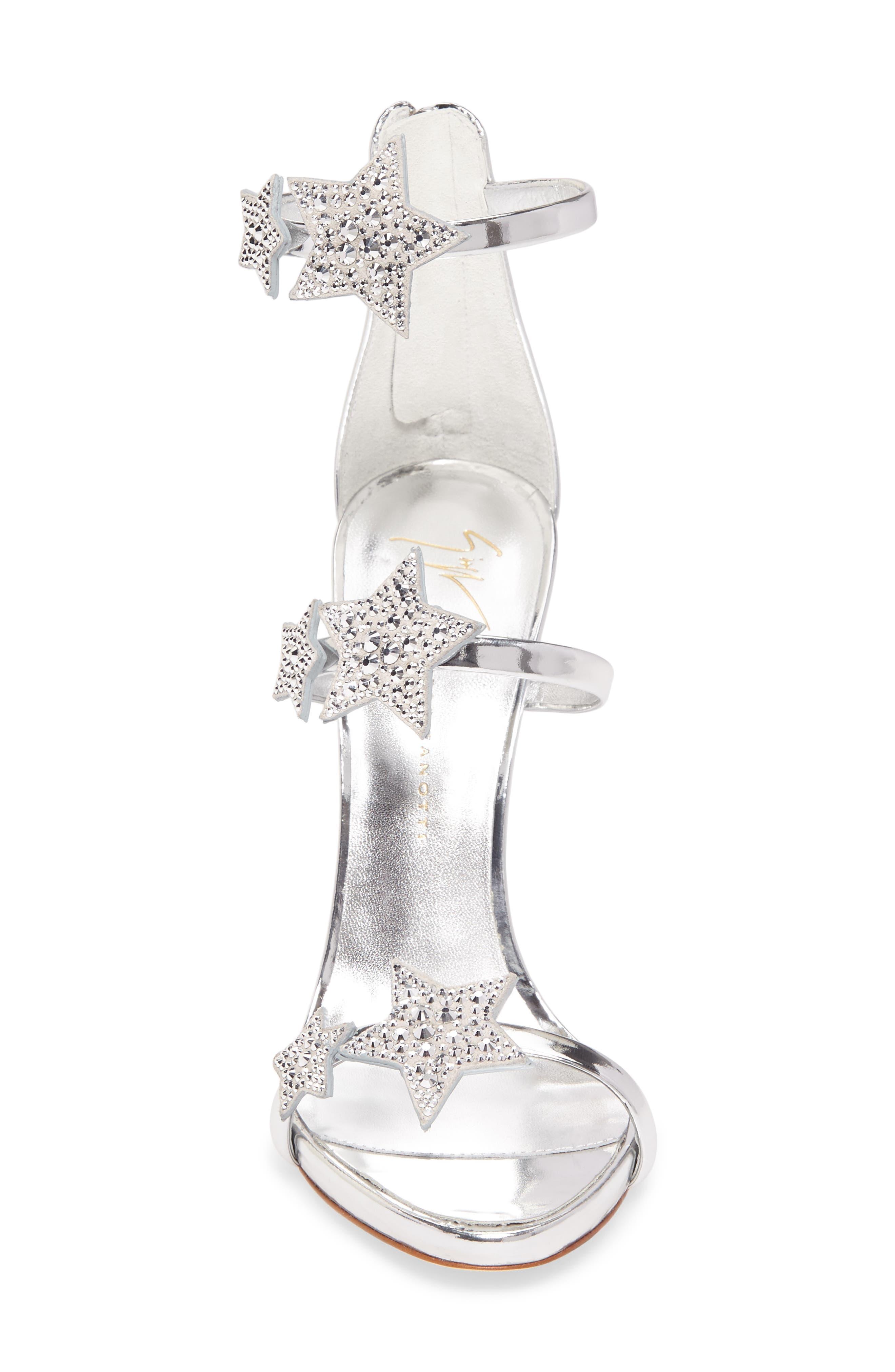 Alternate Image 4  - Giuseppe Zanotti Coline Embellished Star Strap Sandal (Women)