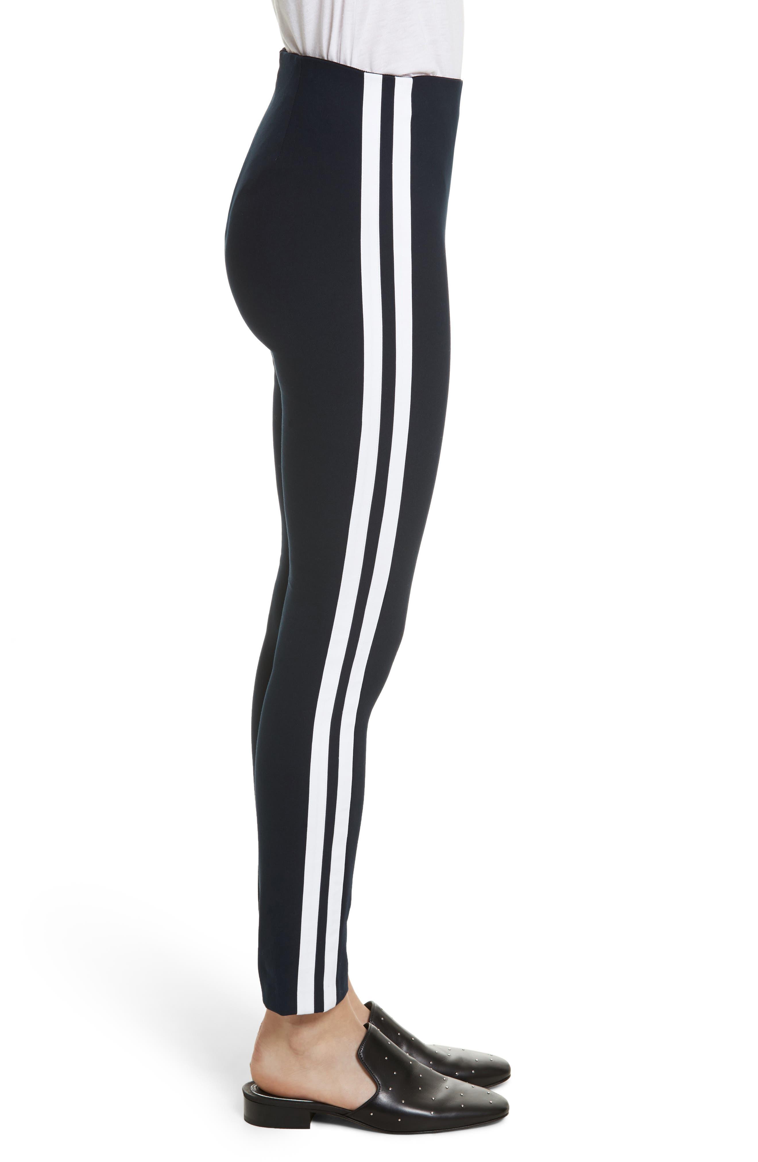 Alternate Image 3  - rag & bone Simone Side Stripe Slim Ankle Pants