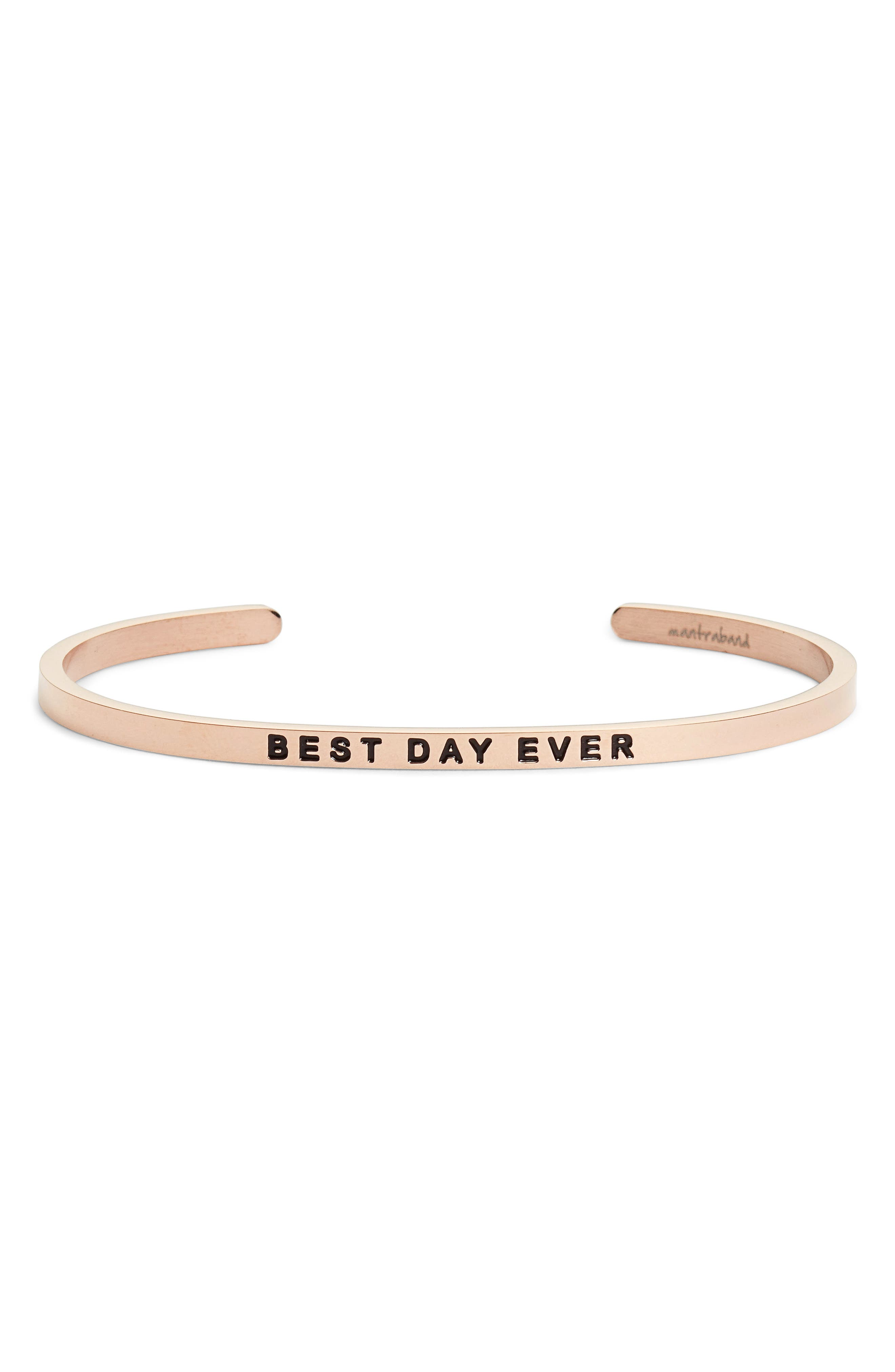 MantraBand® Best Day Ever Cuff