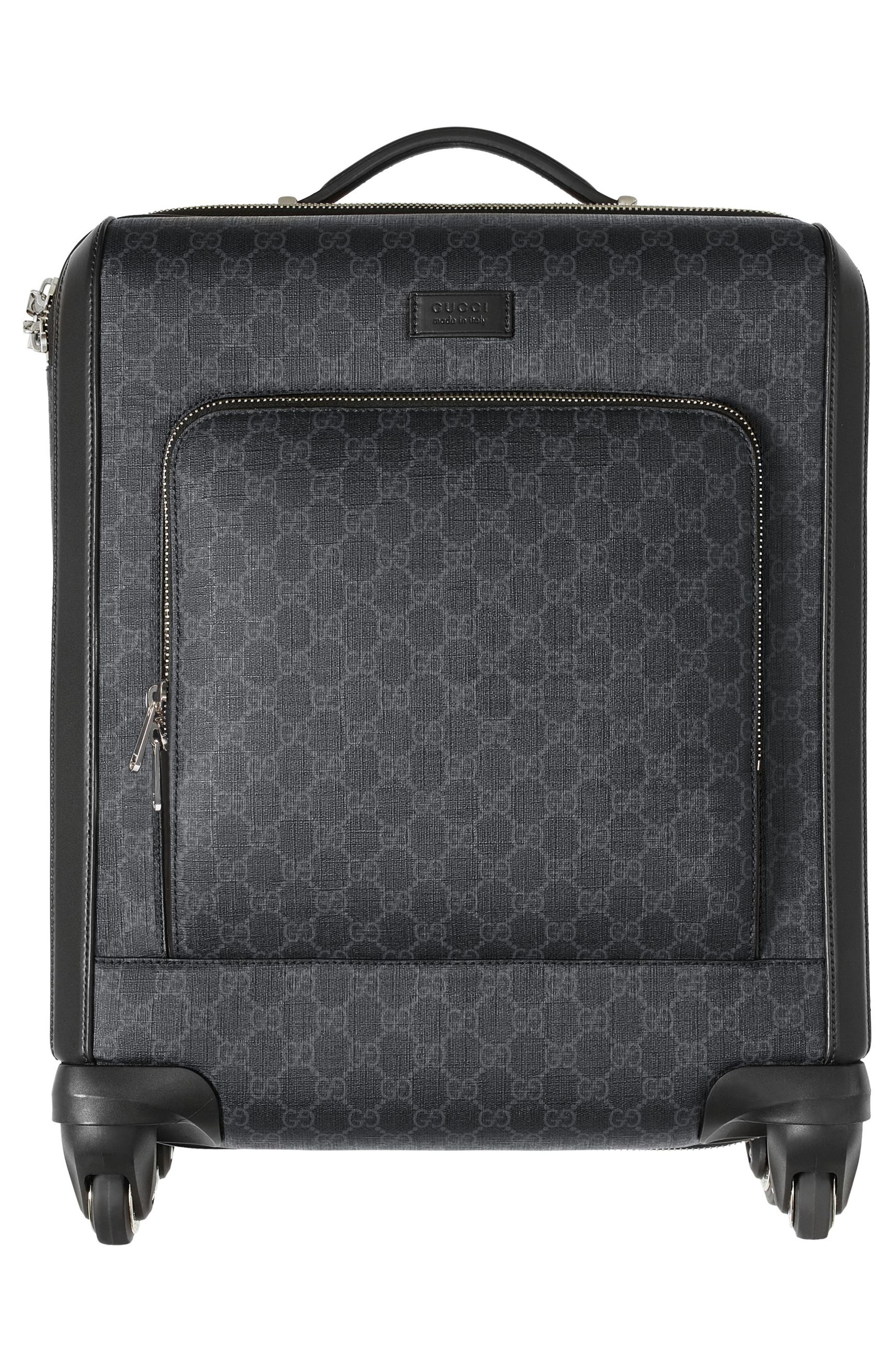 Gran Turismo Carry-On,                             Alternate thumbnail 8, color,                             Black