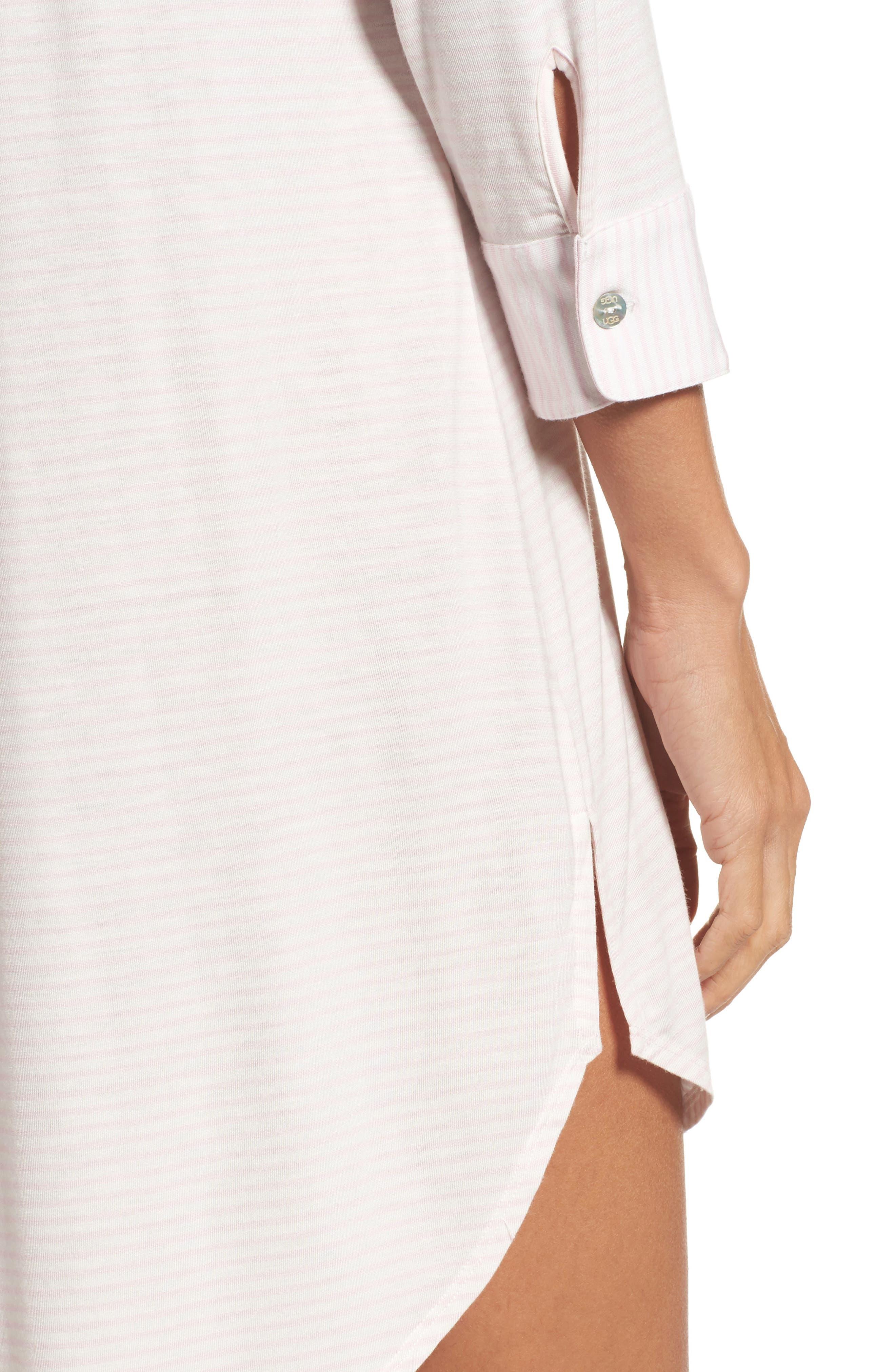 Alternate Image 5  - UGG® Vivian Sleep Shirt