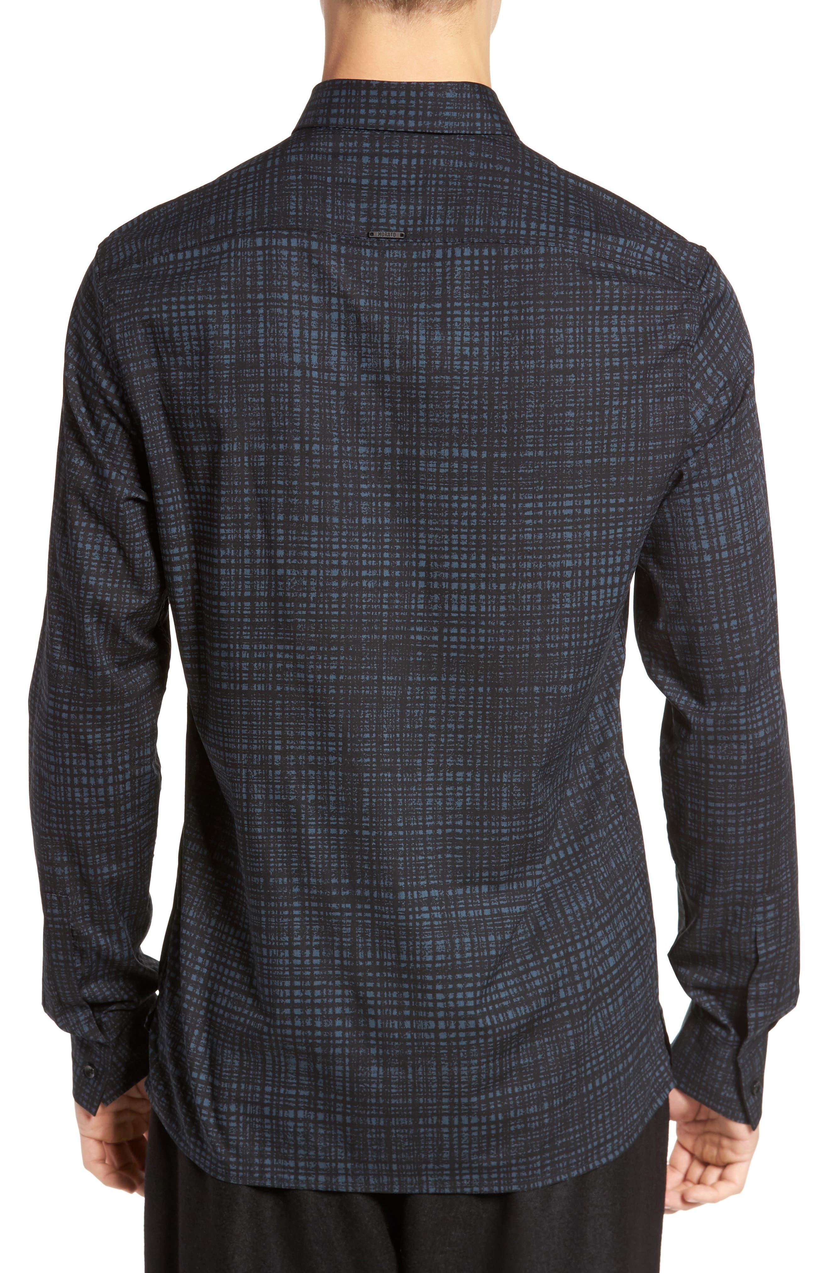 Pattern Shirt,                             Alternate thumbnail 2, color,                             Pacific Blue
