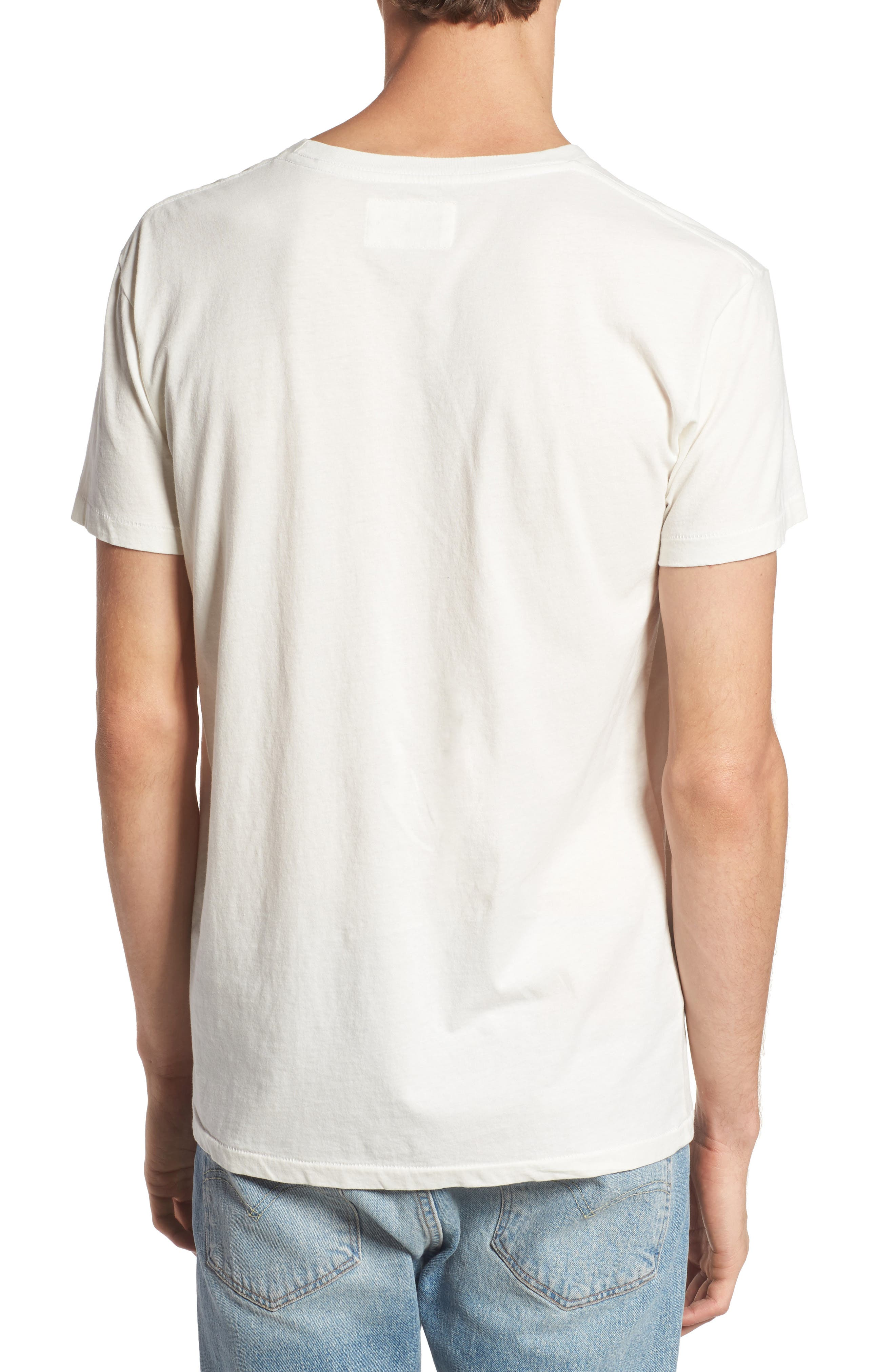 Pow Pow Crew Graphic T-Shirt,                             Alternate thumbnail 2, color,                             Dirty White