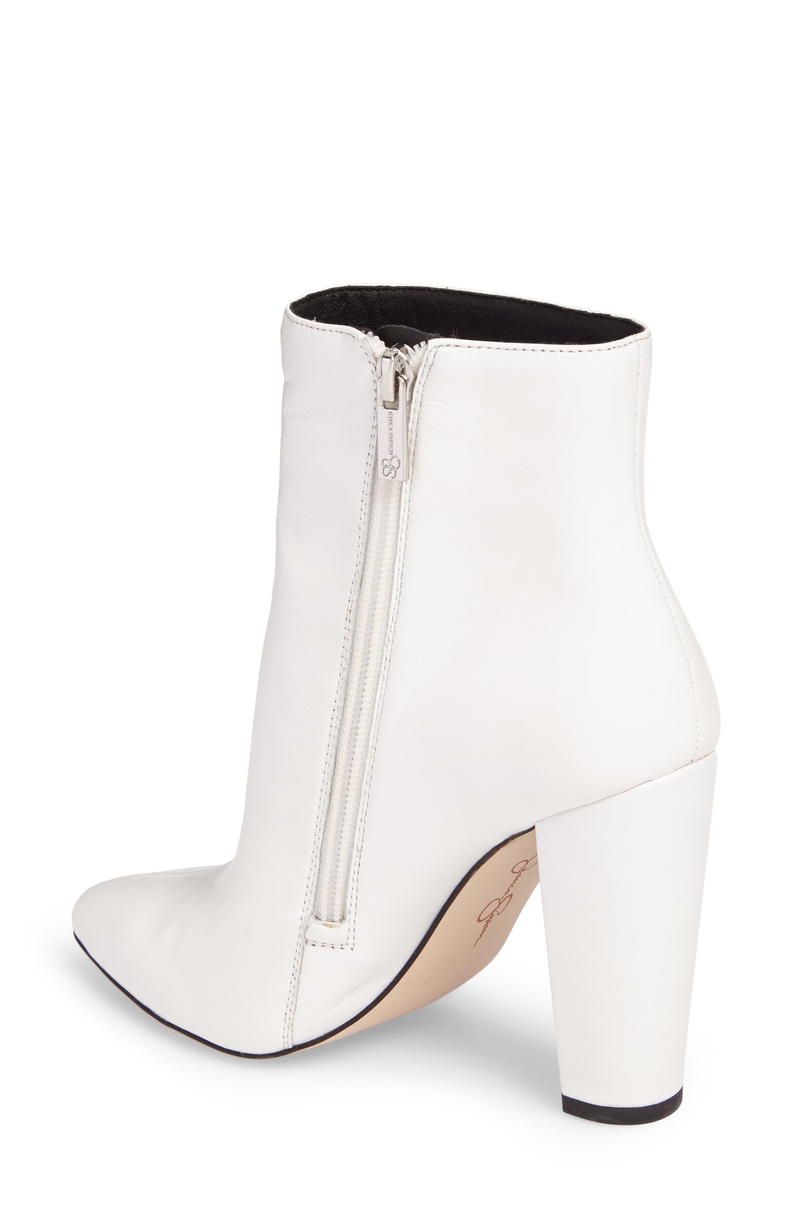 Alternate Image 2  - Jessica Simpson Teddi Crescent-Heel Bootie (Women)