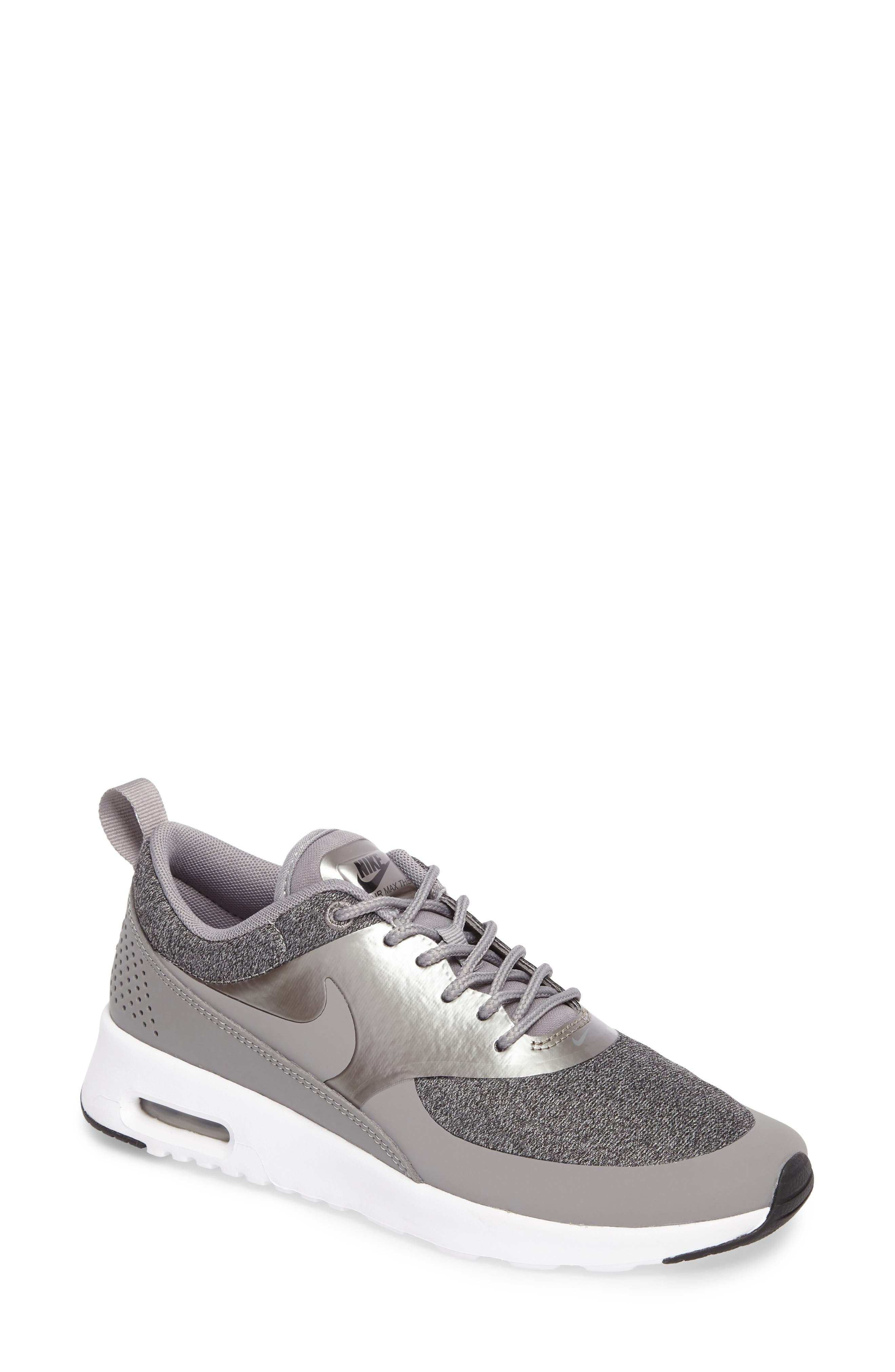 black and white nike air max shoes. nike air max thea knit sneaker (women) black and white shoes u
