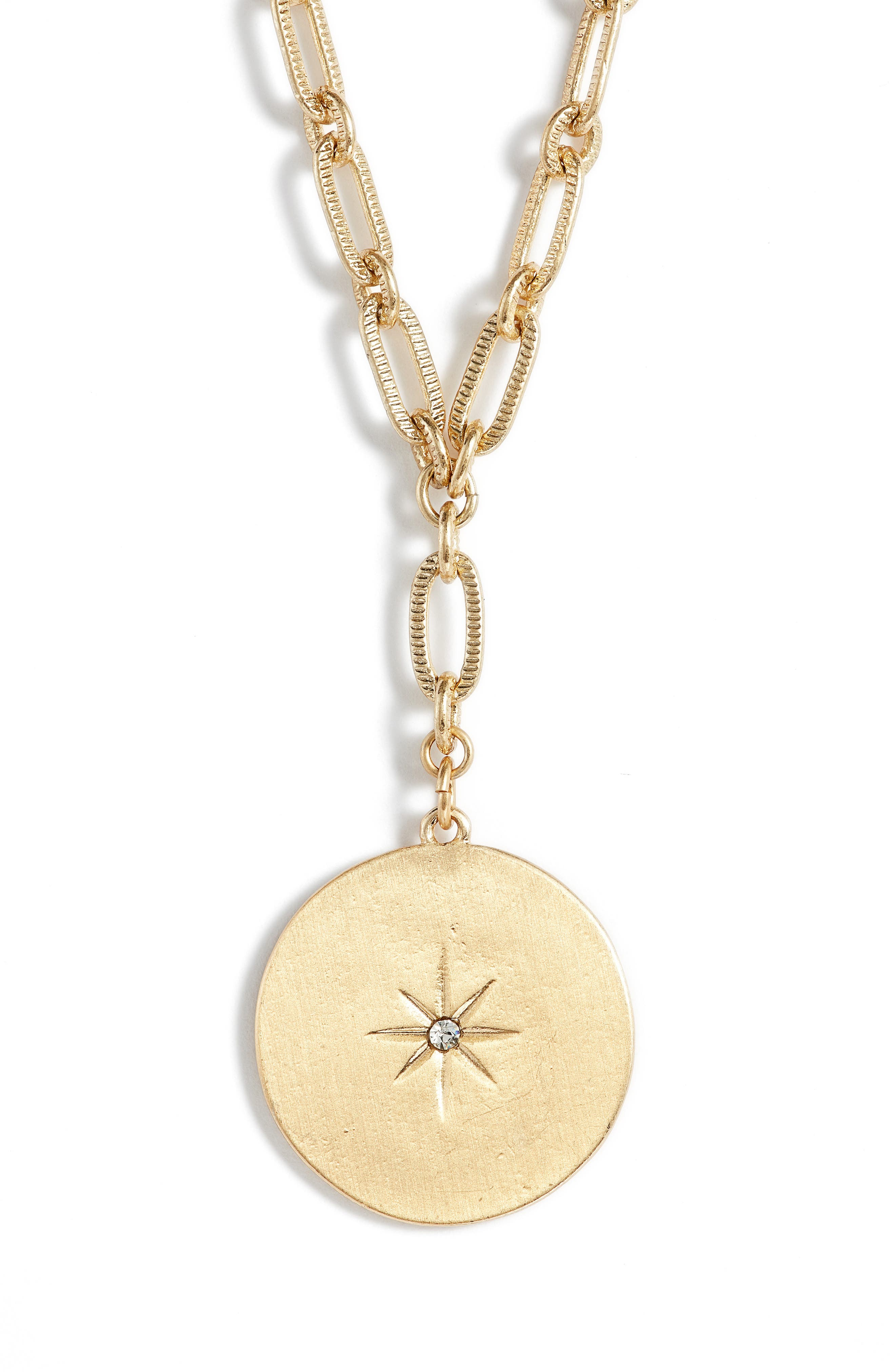 Treasure & Bond Star Disc Short Y Necklace