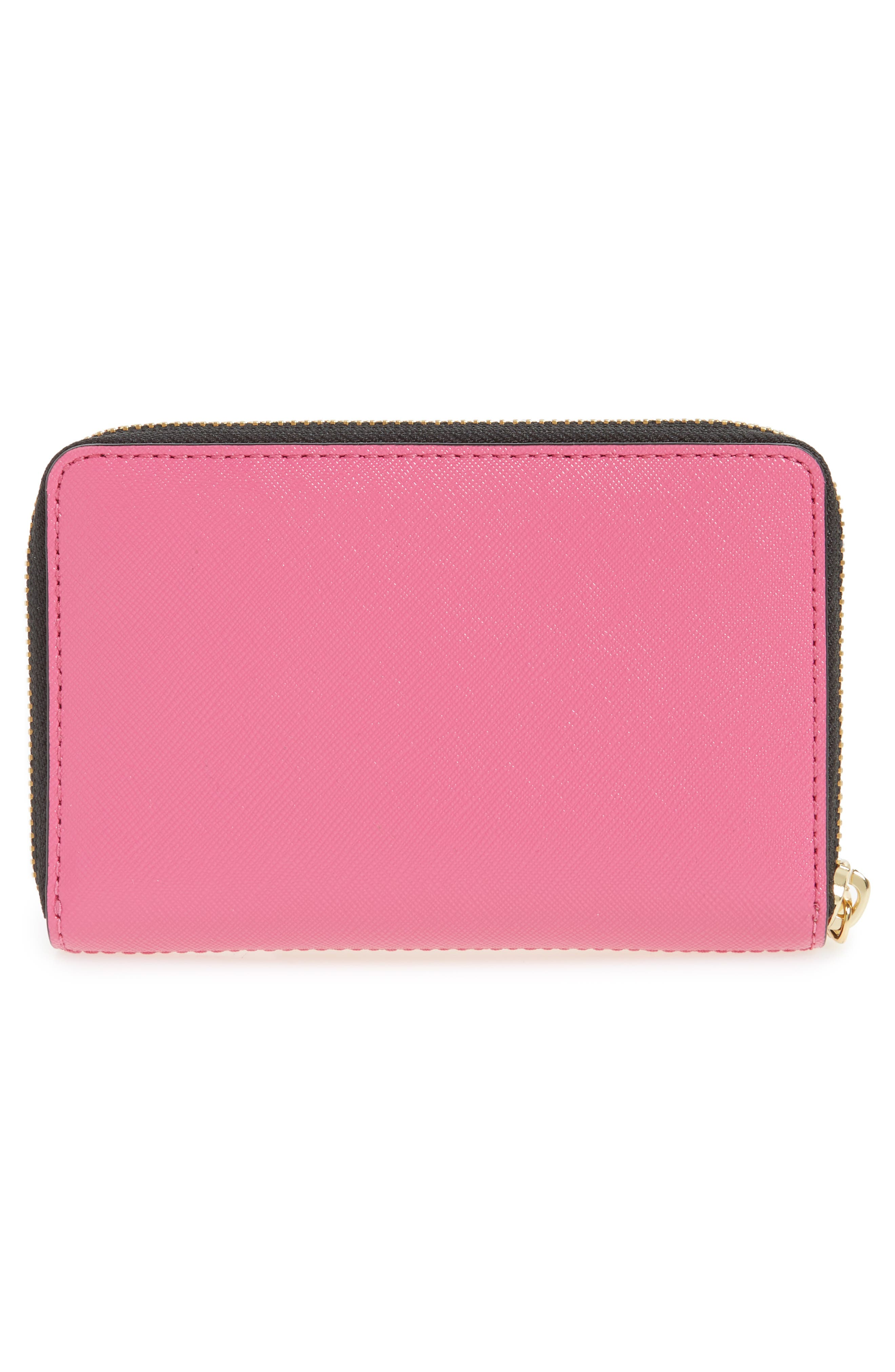 Alternate Image 4  - MARC JACOBS Small Snapshot Leather Zip-Around Wallet