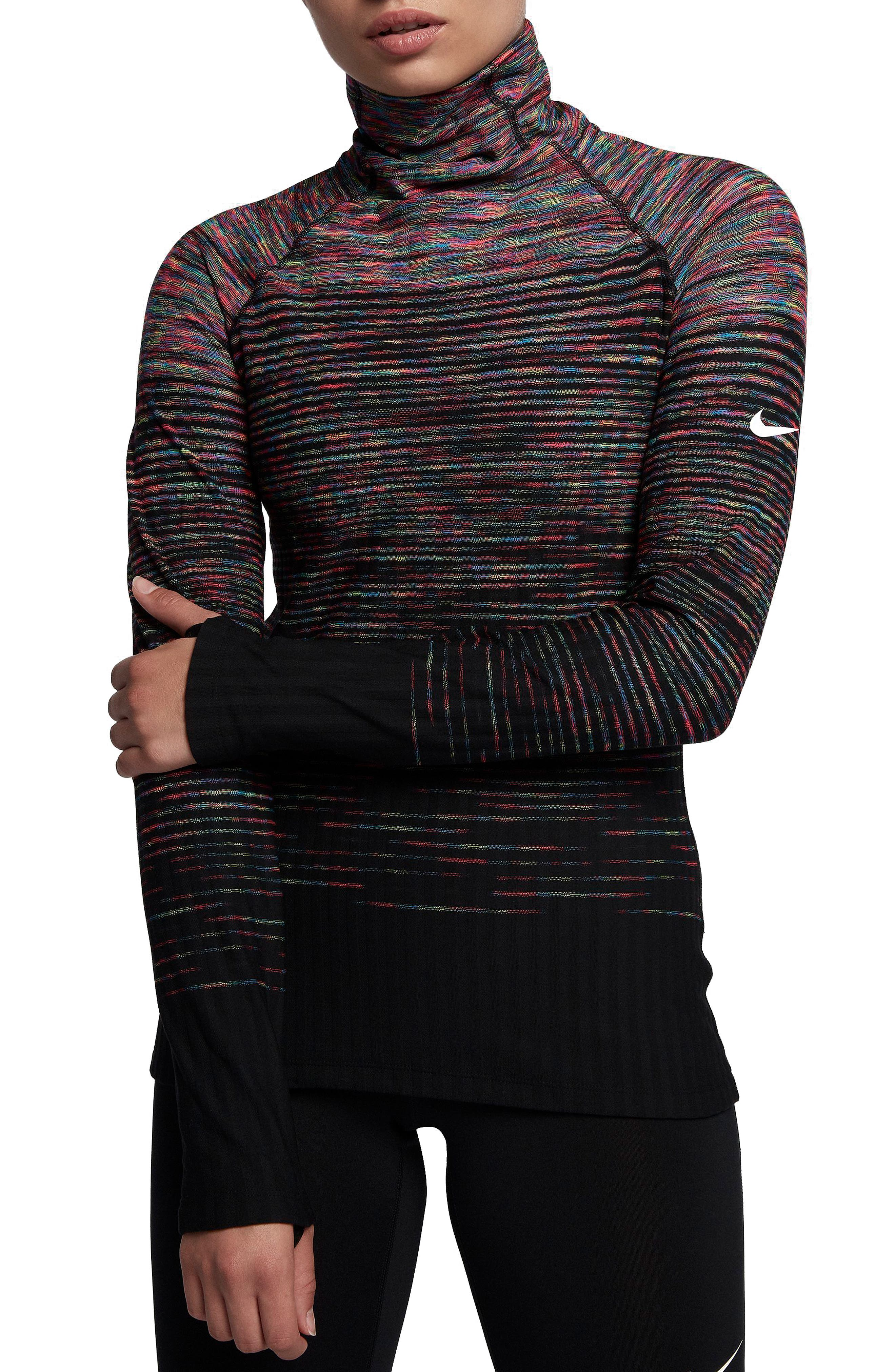 Nike Pro HyperWarm Long Sleeve Training Top