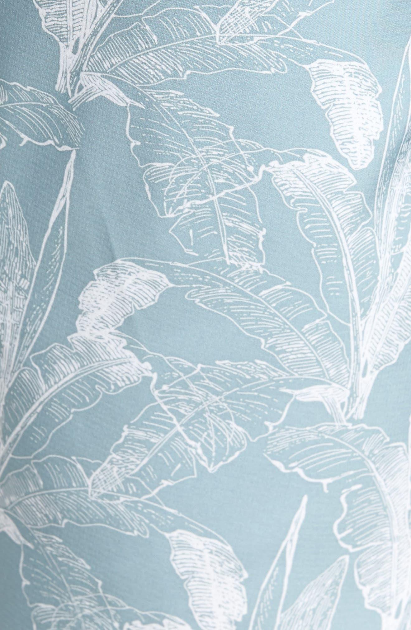Mirage Print Board Shorts,                             Alternate thumbnail 5, color,                             Arona Blue