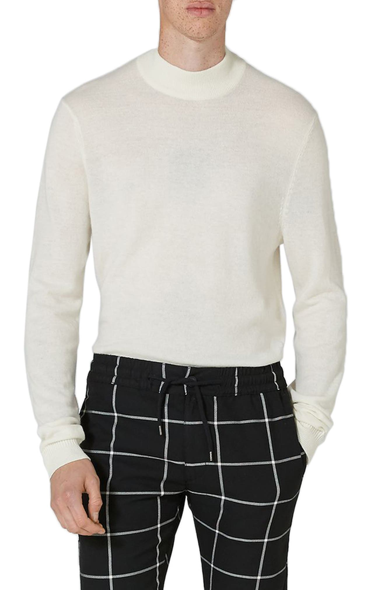 Topman Slim Fit Turtleneck Sweater