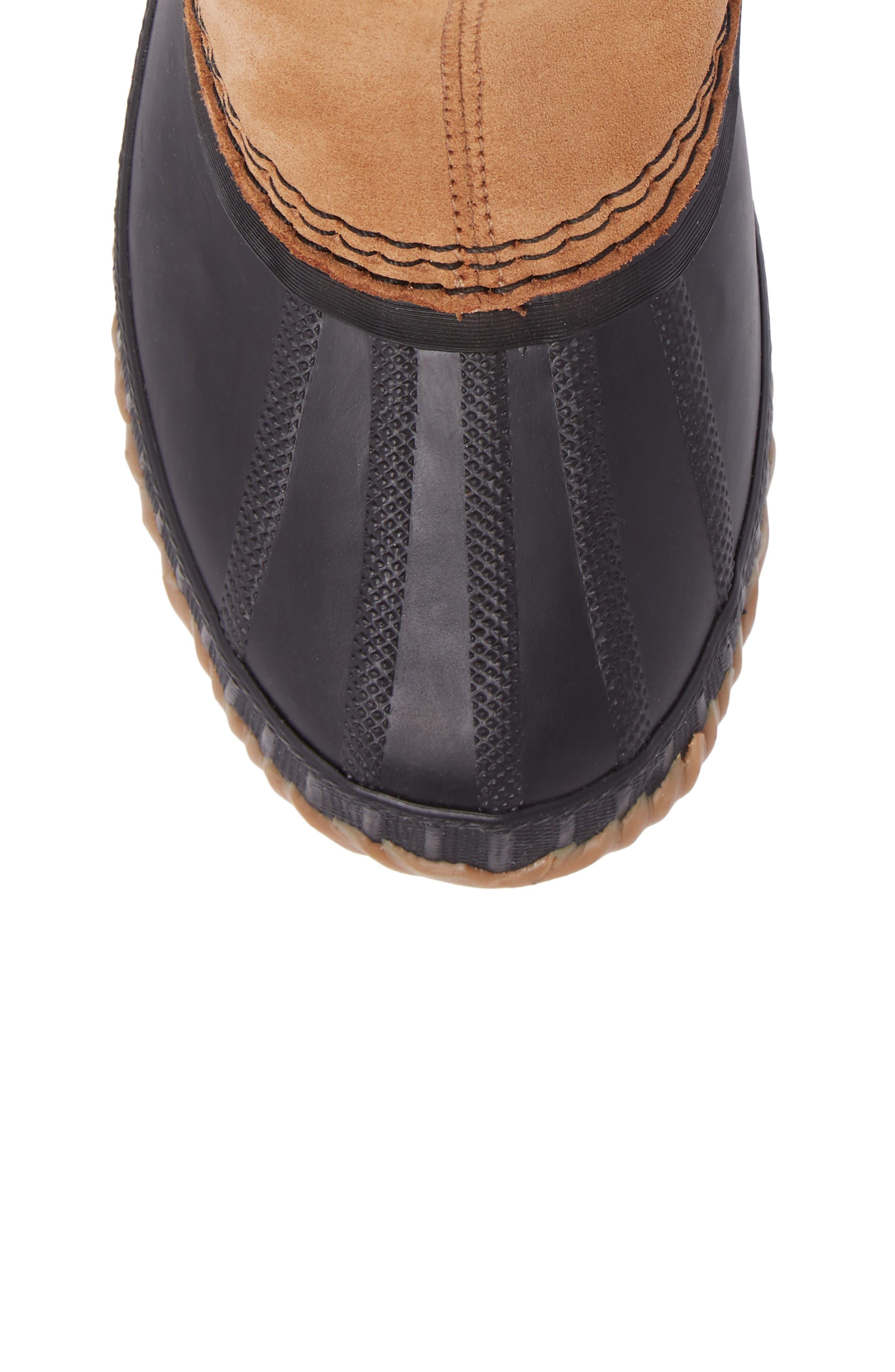 Cheyanne II Waterproof Insulated Chelsea Boot,                             Alternate thumbnail 5, color,                             Elk/ Black