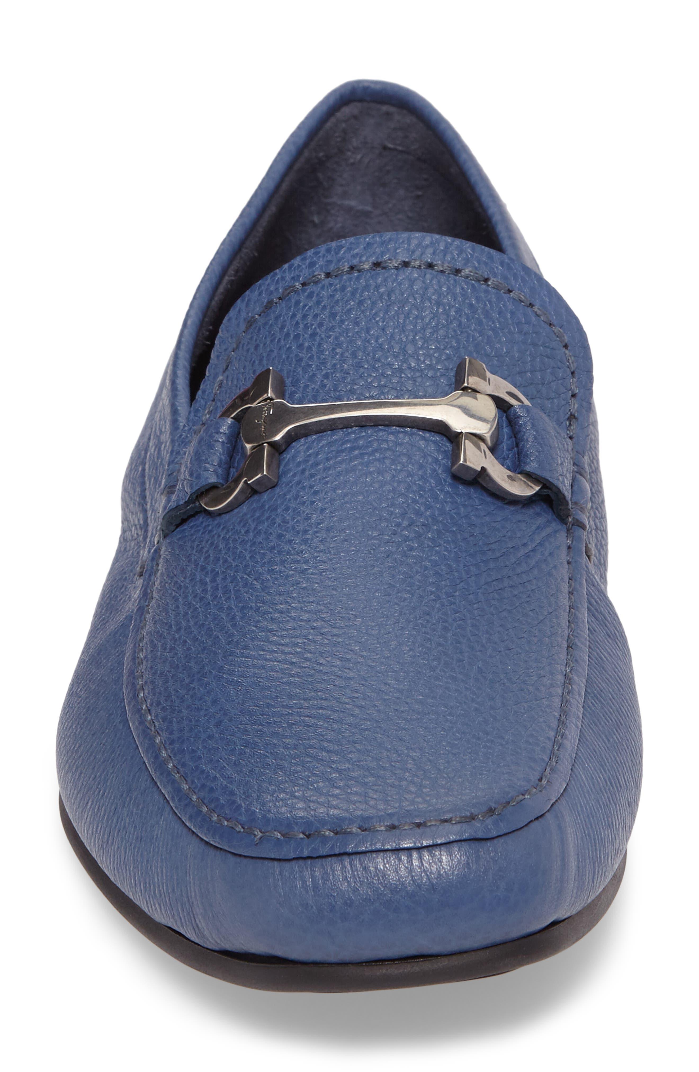 Cancun 2 Driving Shoe,                             Alternate thumbnail 4, color,                             Fjord Blue