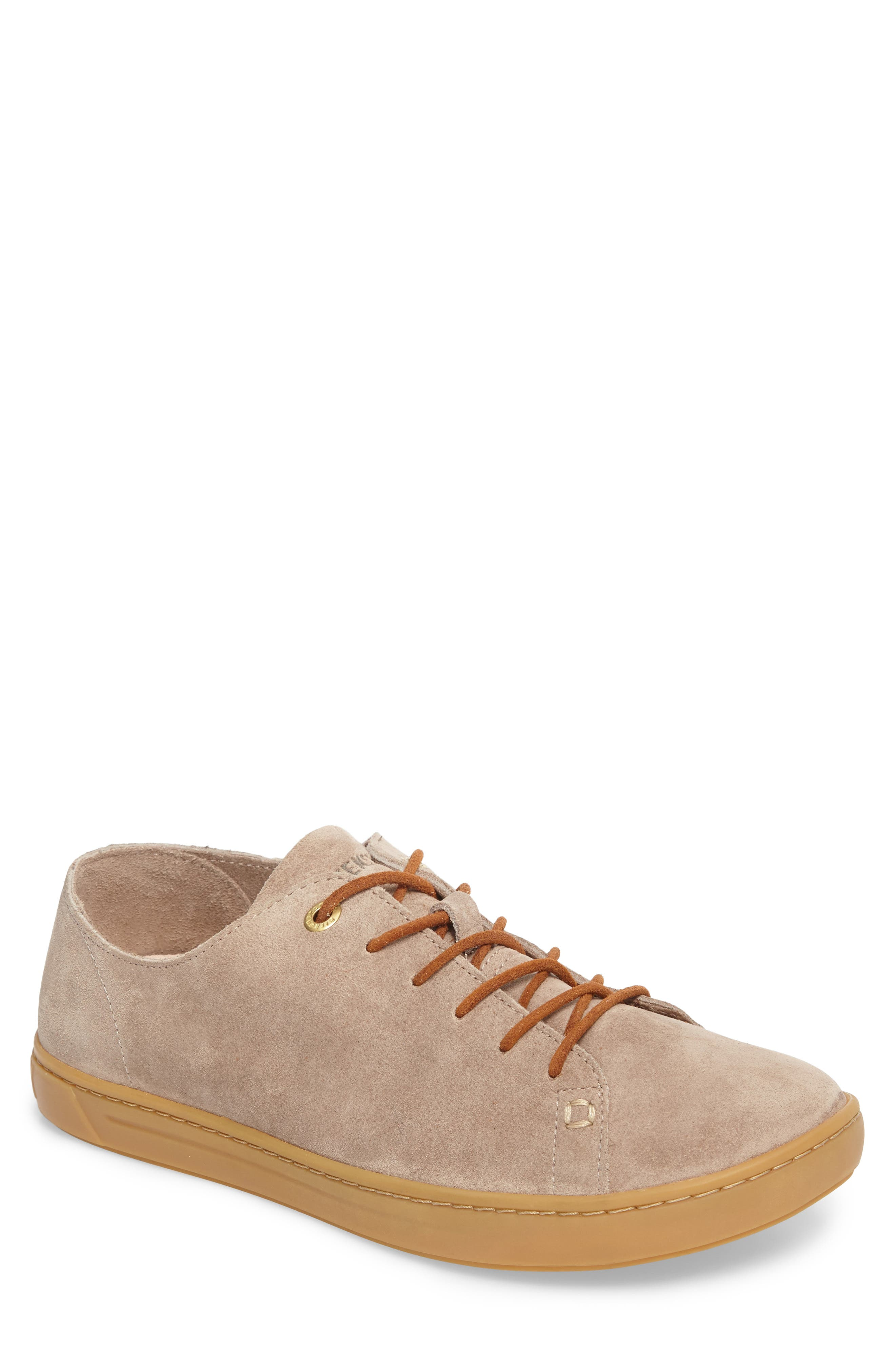 Arran Sneaker,                             Main thumbnail 1, color,                             Taupe Suede