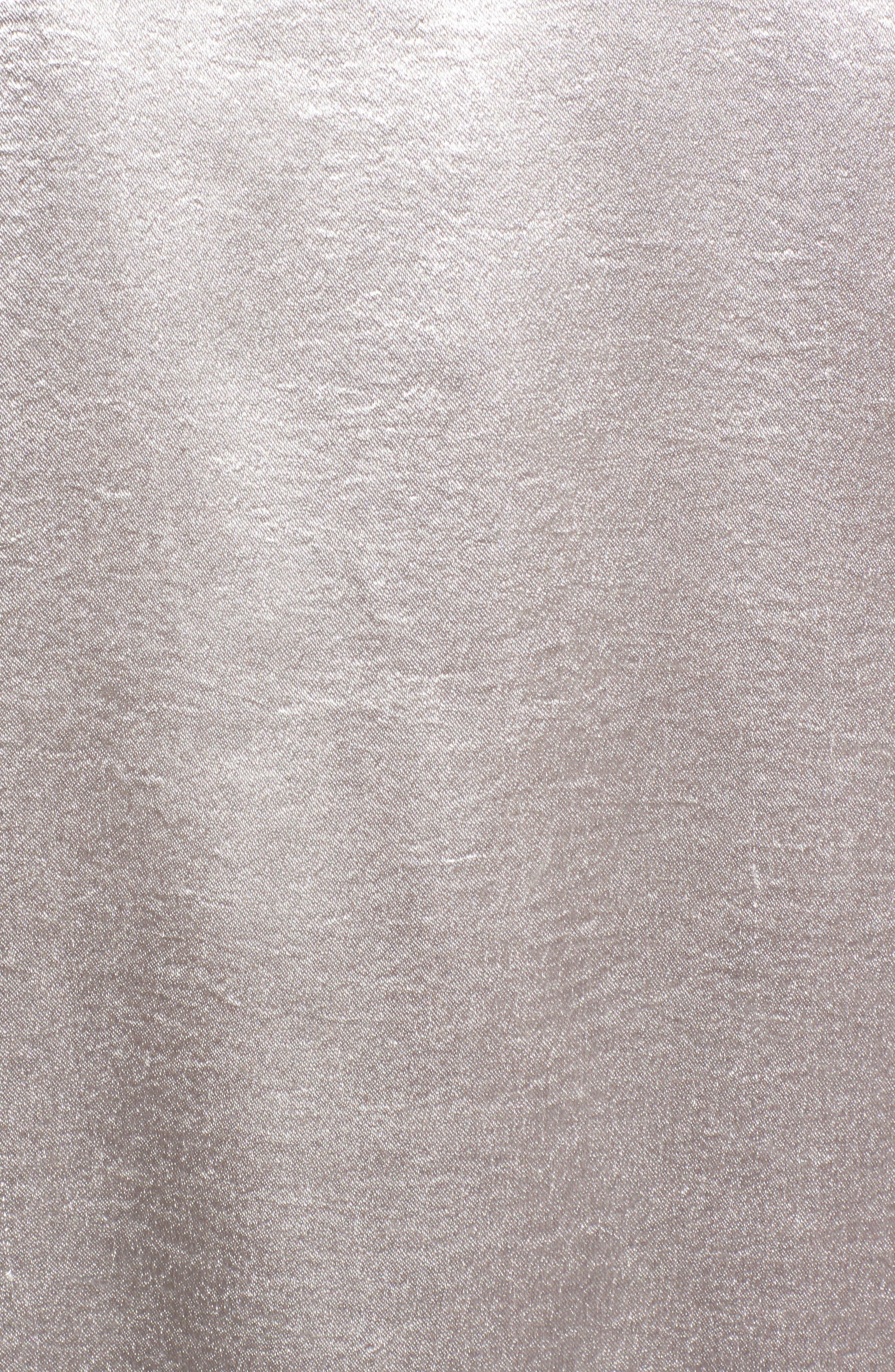 Reue Coat,                             Alternate thumbnail 5, color,                             Silver