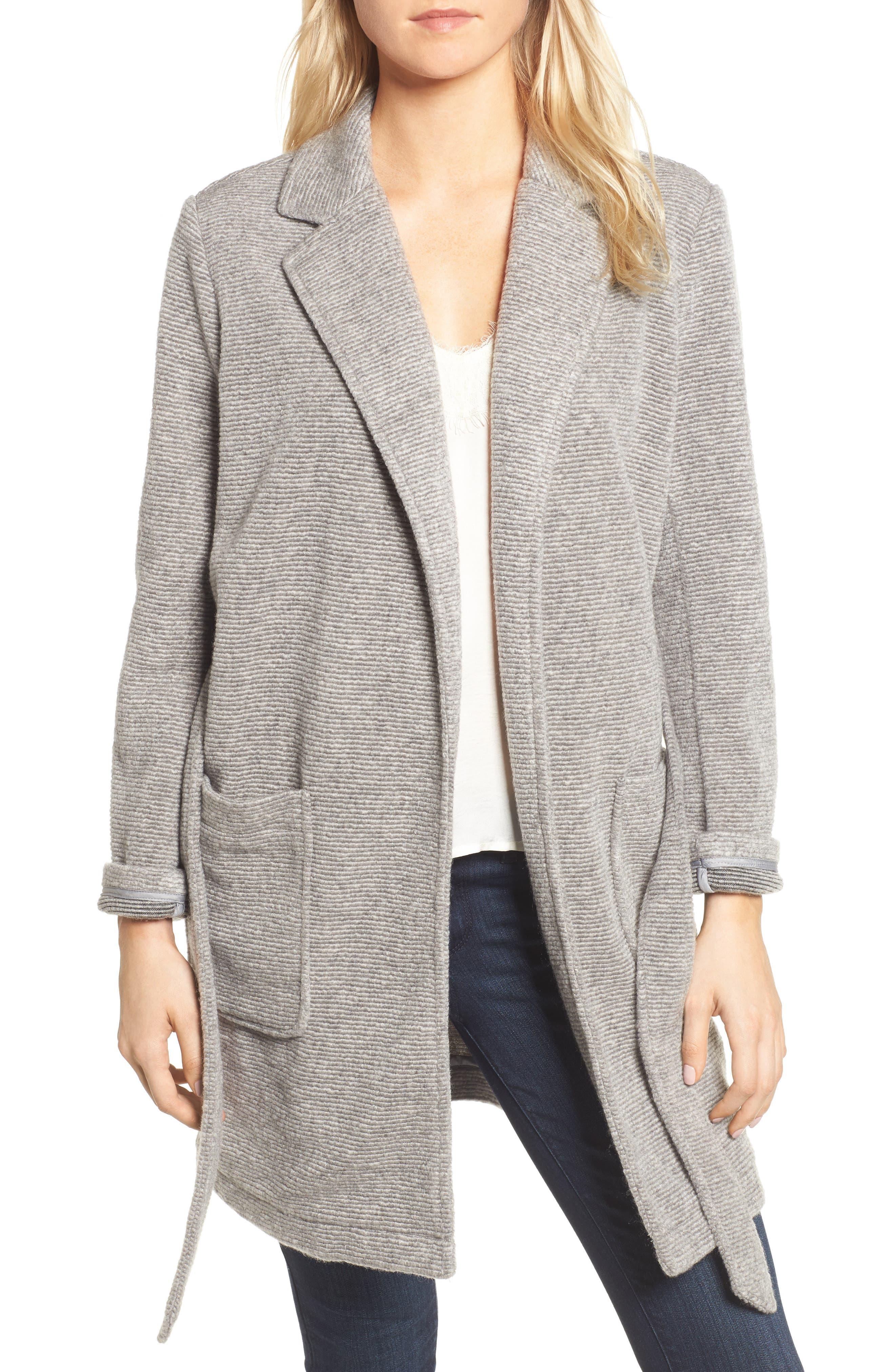 Cyrus Wrap Jacket,                         Main,                         color, H Grey