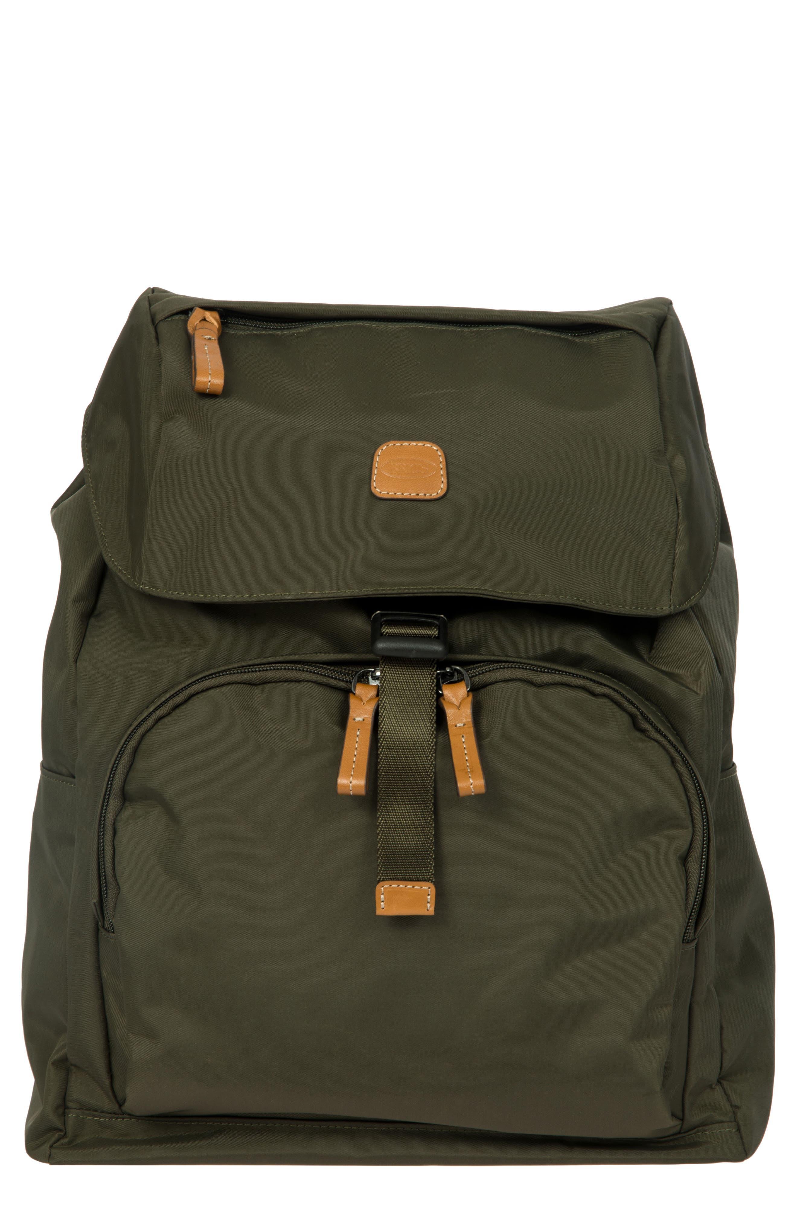 X-Bag Travel Excursion Backpack,                         Main,                         color, Olive