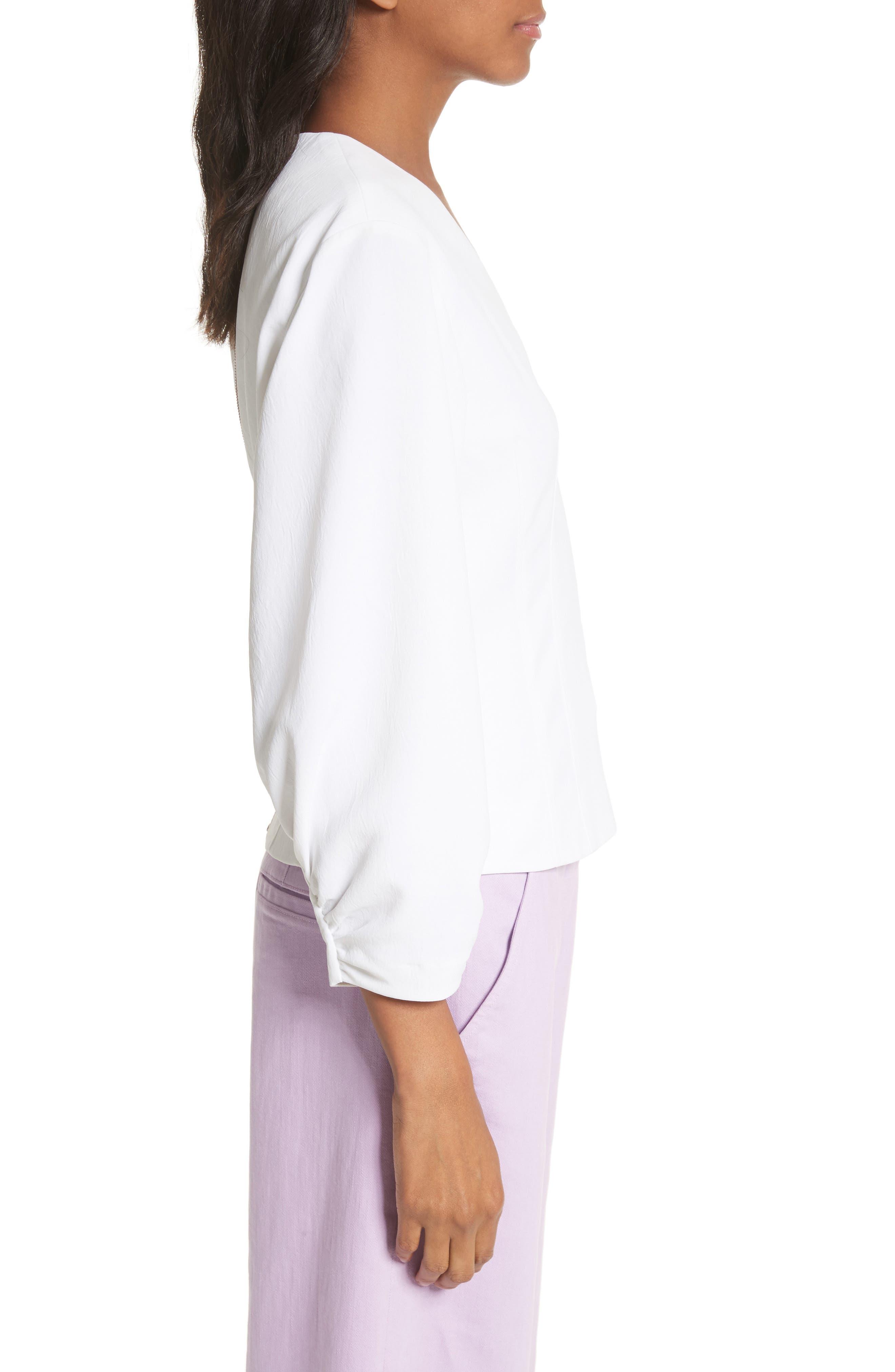 Alternate Image 3  - Tibi Cinched Sleeve Top