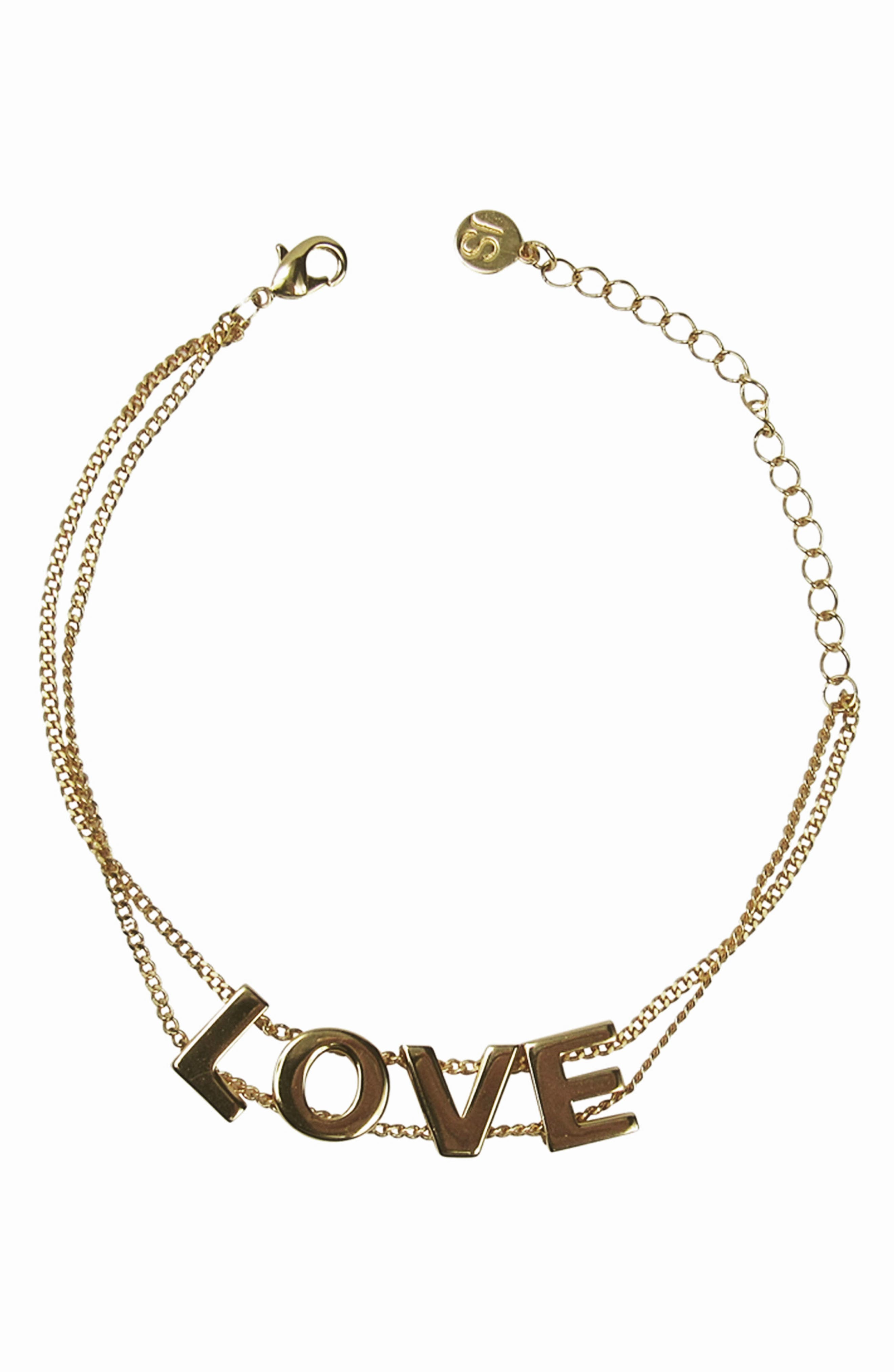 Love Bracelet,                             Main thumbnail 1, color,                             Gold