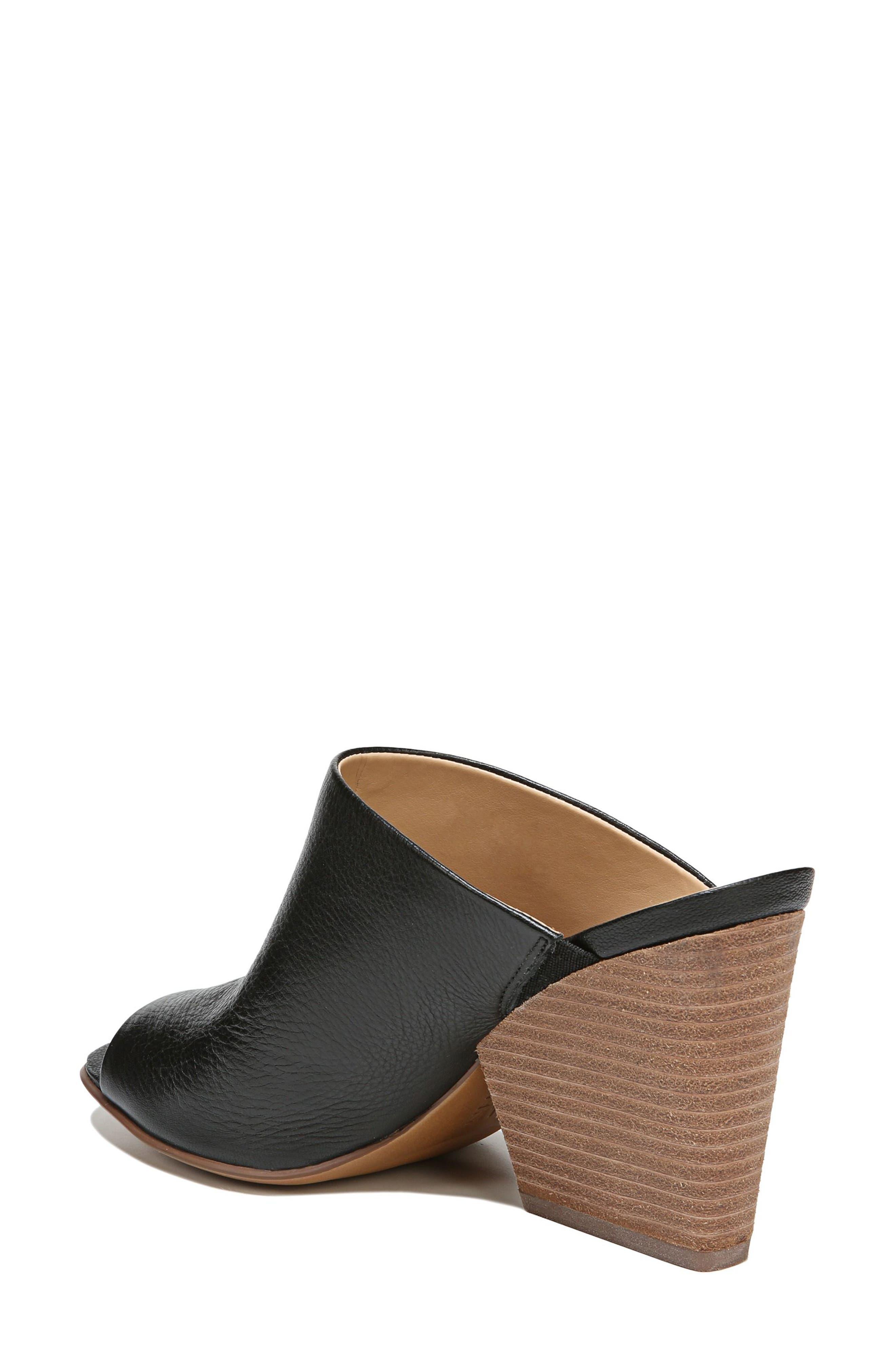 Sloan Sandal,                             Alternate thumbnail 2, color,                             Black Pebbled Leather