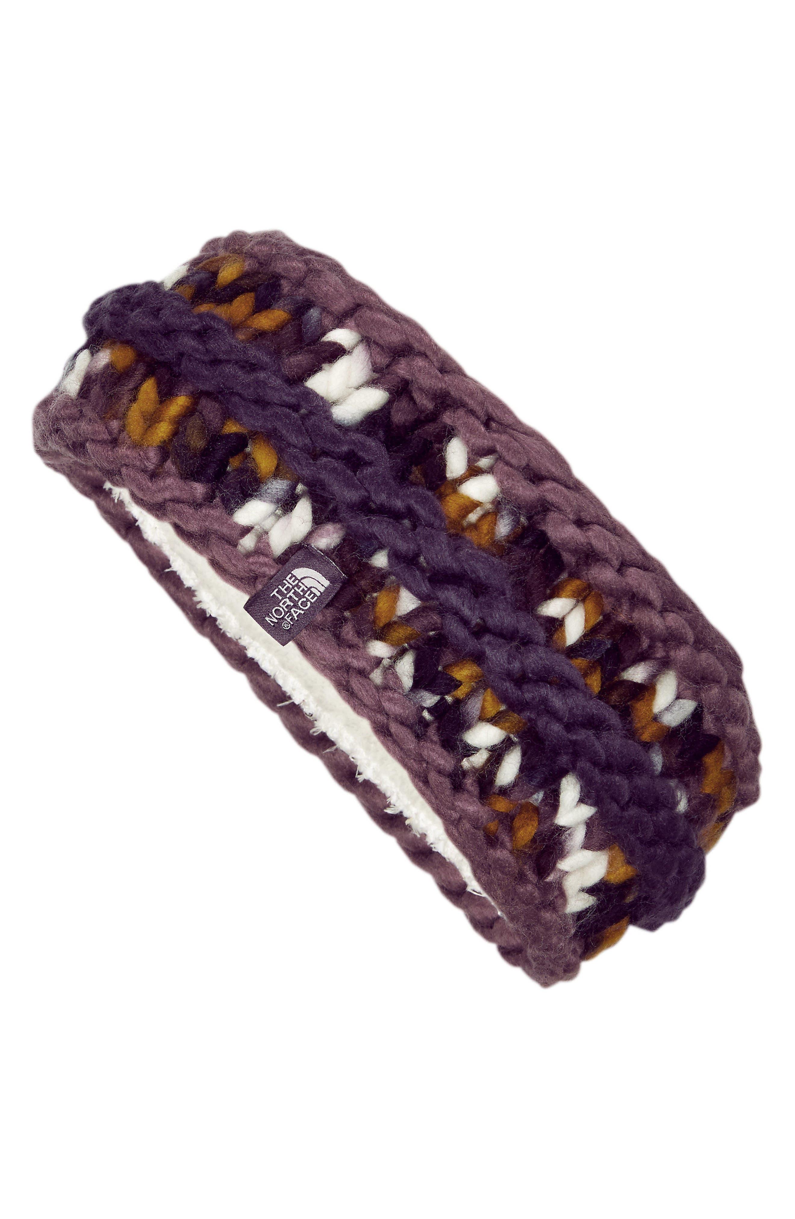 The Nanny Knit,                         Main,                         color, Black Plum Multi