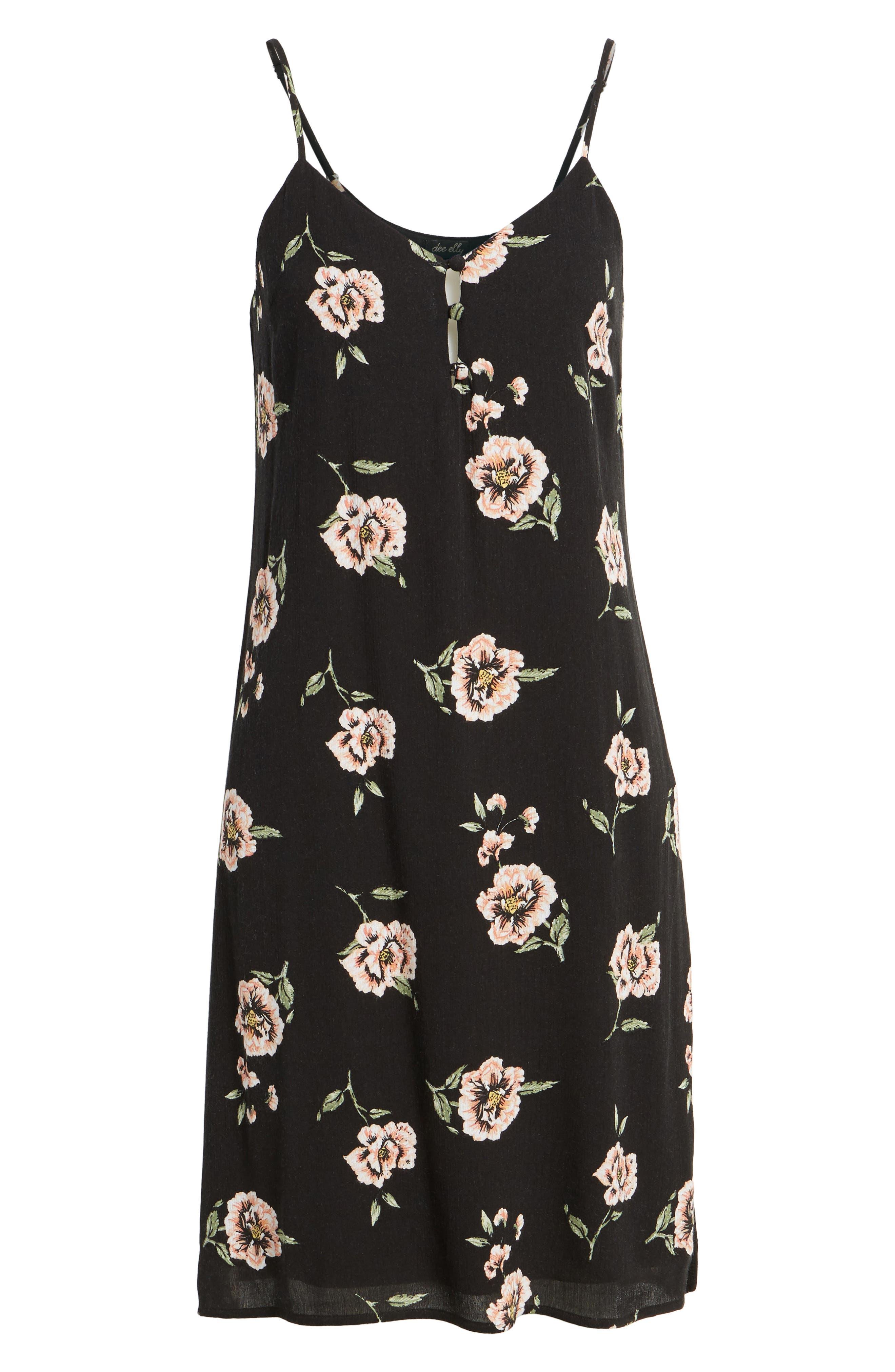 Alternate Image 6  - Dee Elly Floral Slipdress
