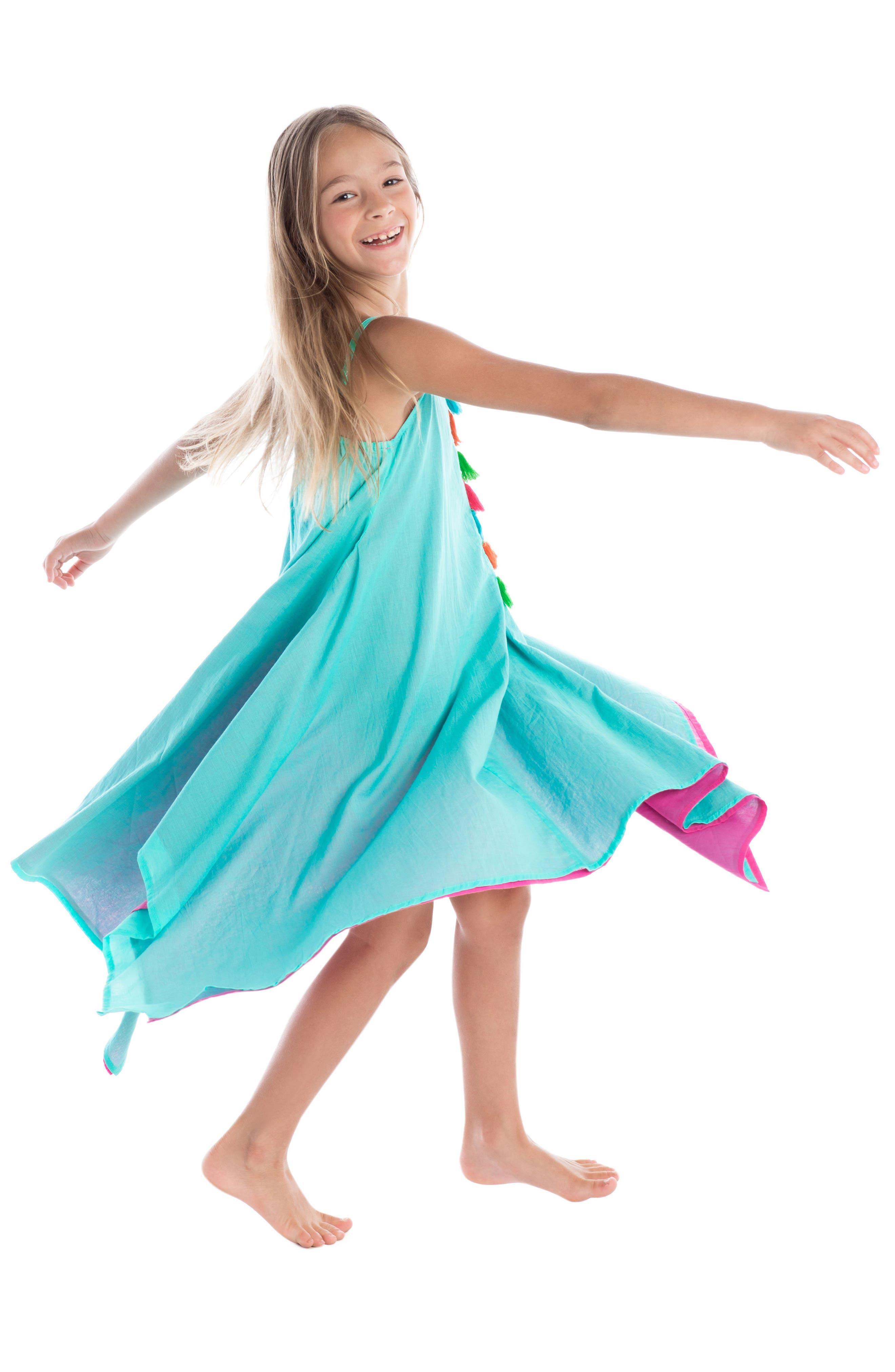 Alternate Image 3  - Masalababy Citra Tassel Dress (Toddler Girls)