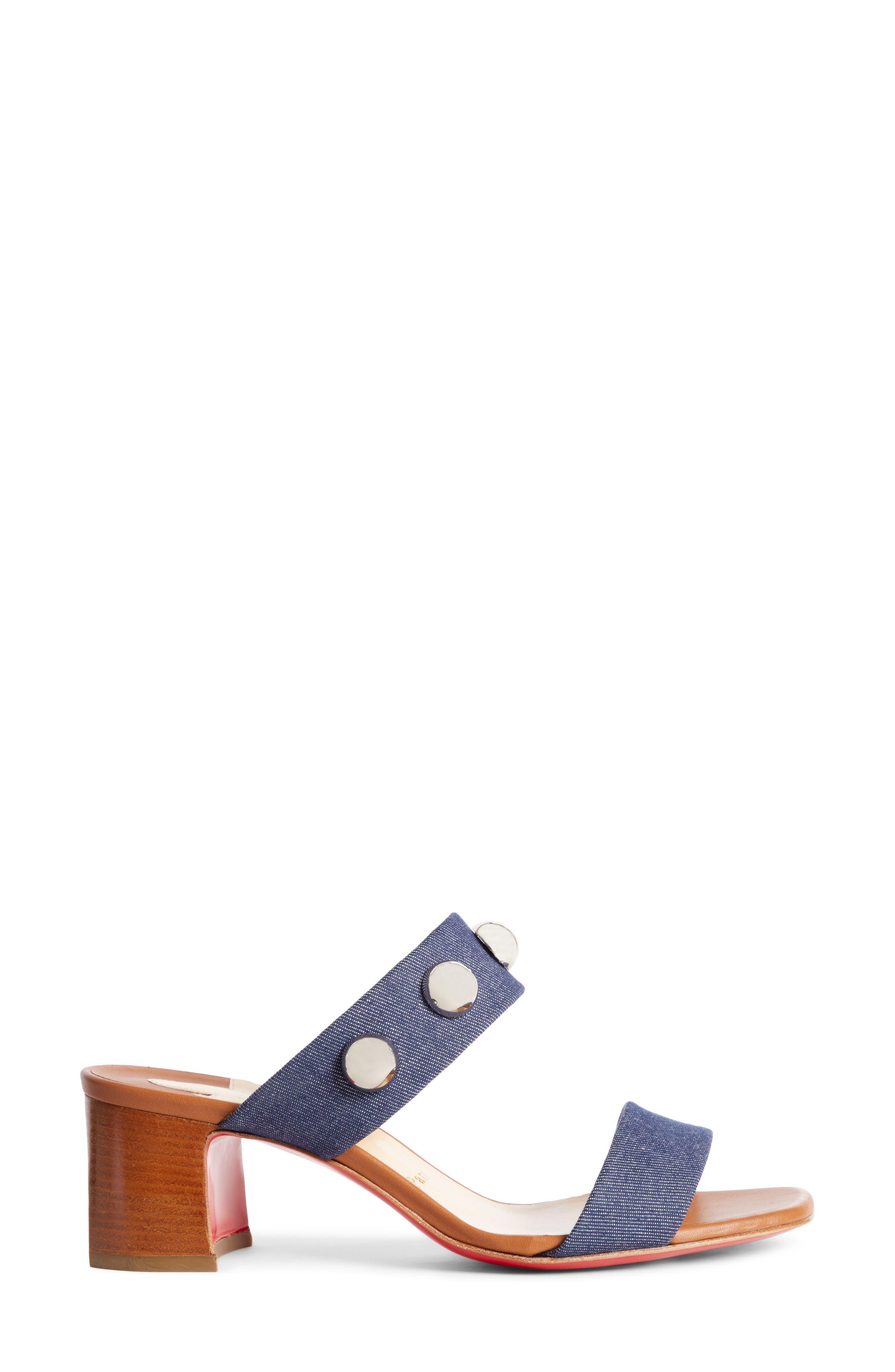 Alternate Image 3  - Christian Louboutin Simple Bille Ornament Slide Sandal (Women)