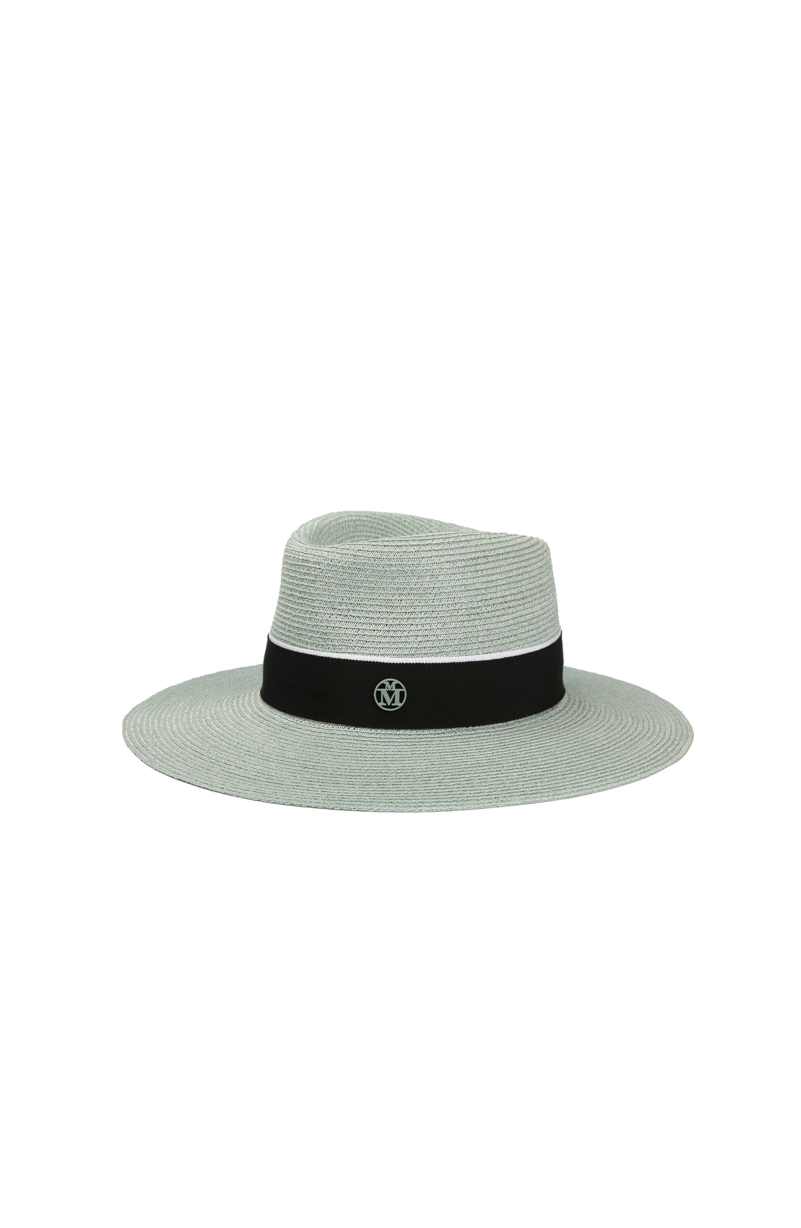 Charles Straw Hat,                             Main thumbnail 1, color,                             Mint