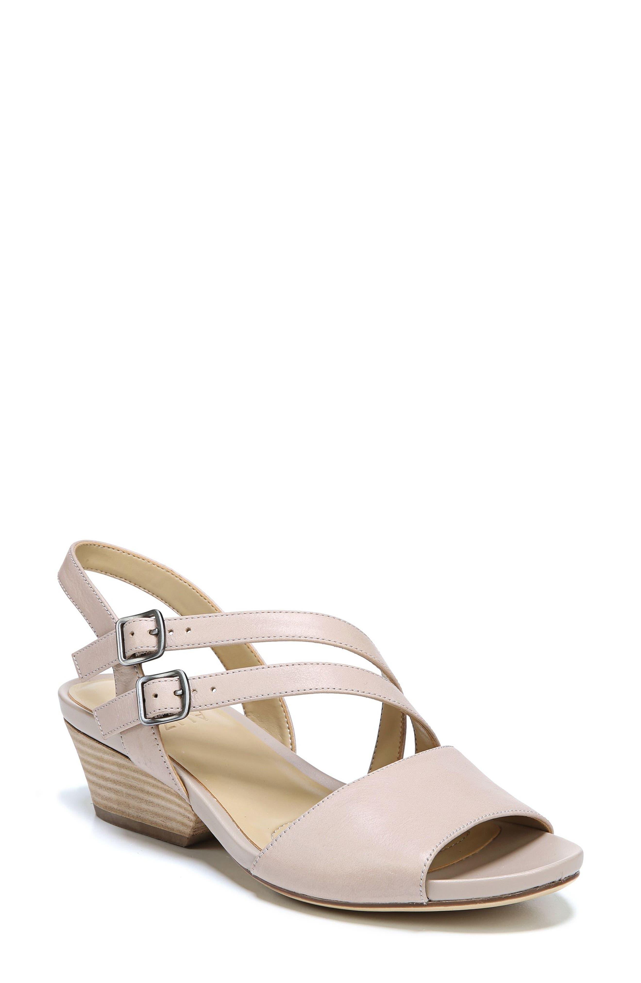 Gigi Sandal,                         Main,                         color, Soft Marble Leather