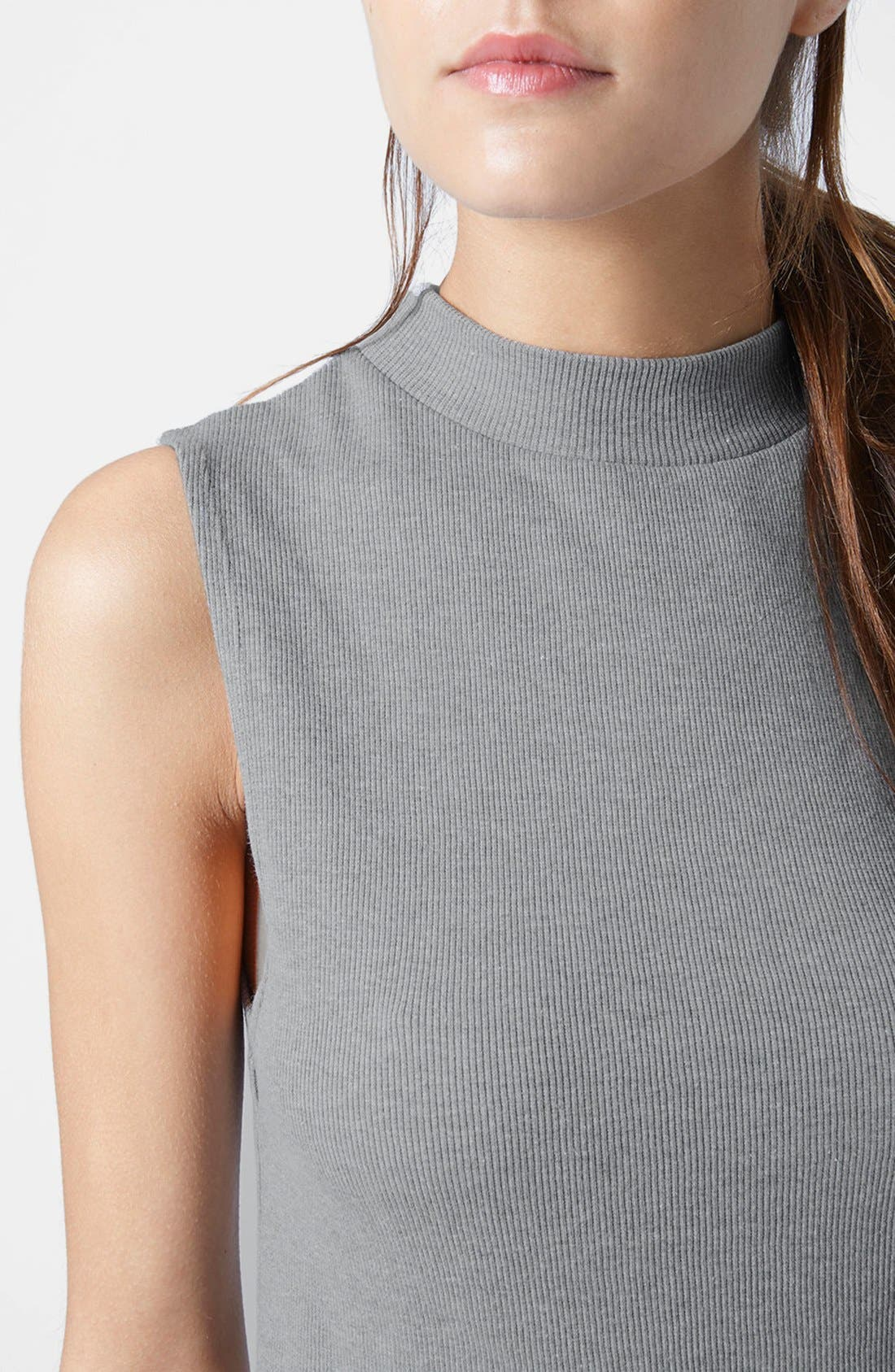 Alternate Image 4  - Topshop Sleeveless Funnel Top