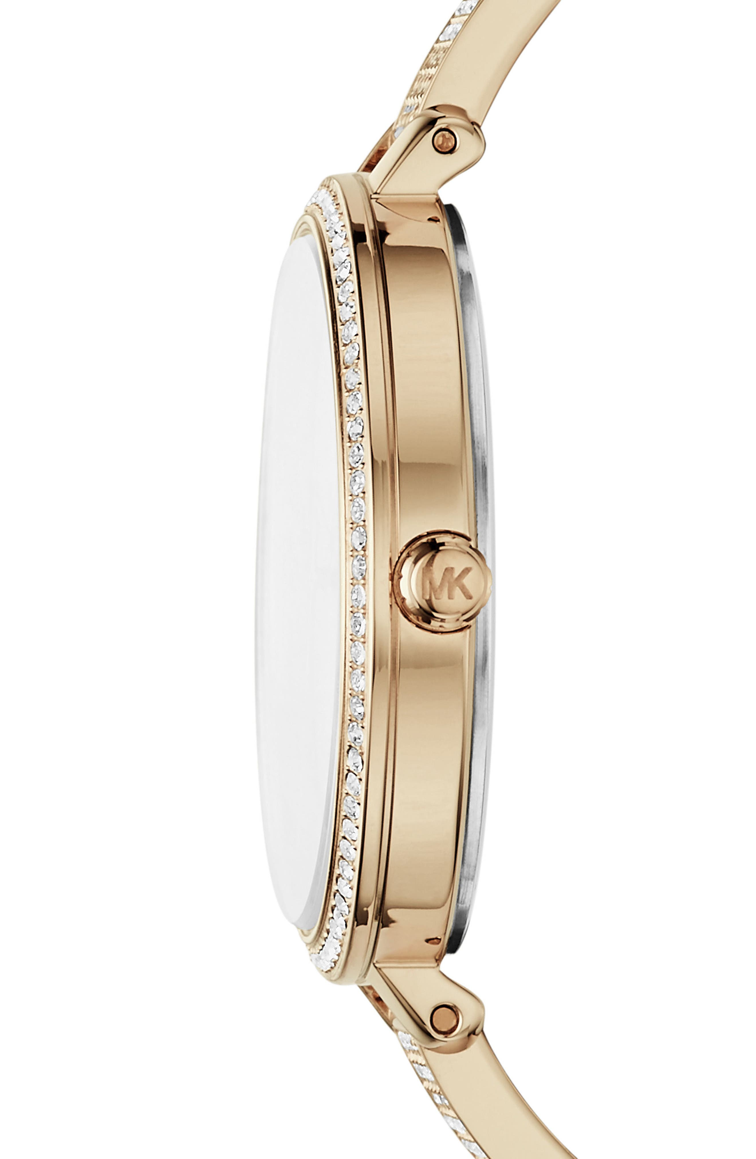 Jaryn Pavé Bangle Watch, 36mm,                             Alternate thumbnail 2, color,                             Gold