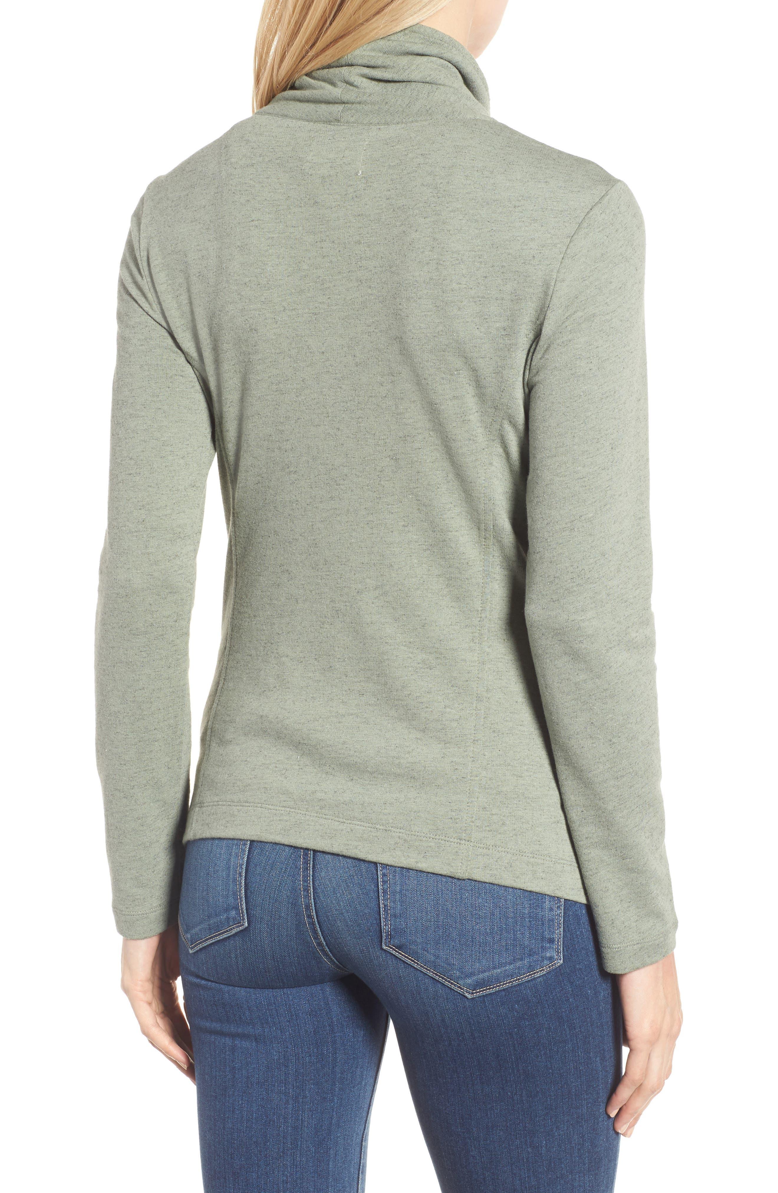 Alternate Image 2  - Caslon® Stella Knit Jacket (Regular & Petite)