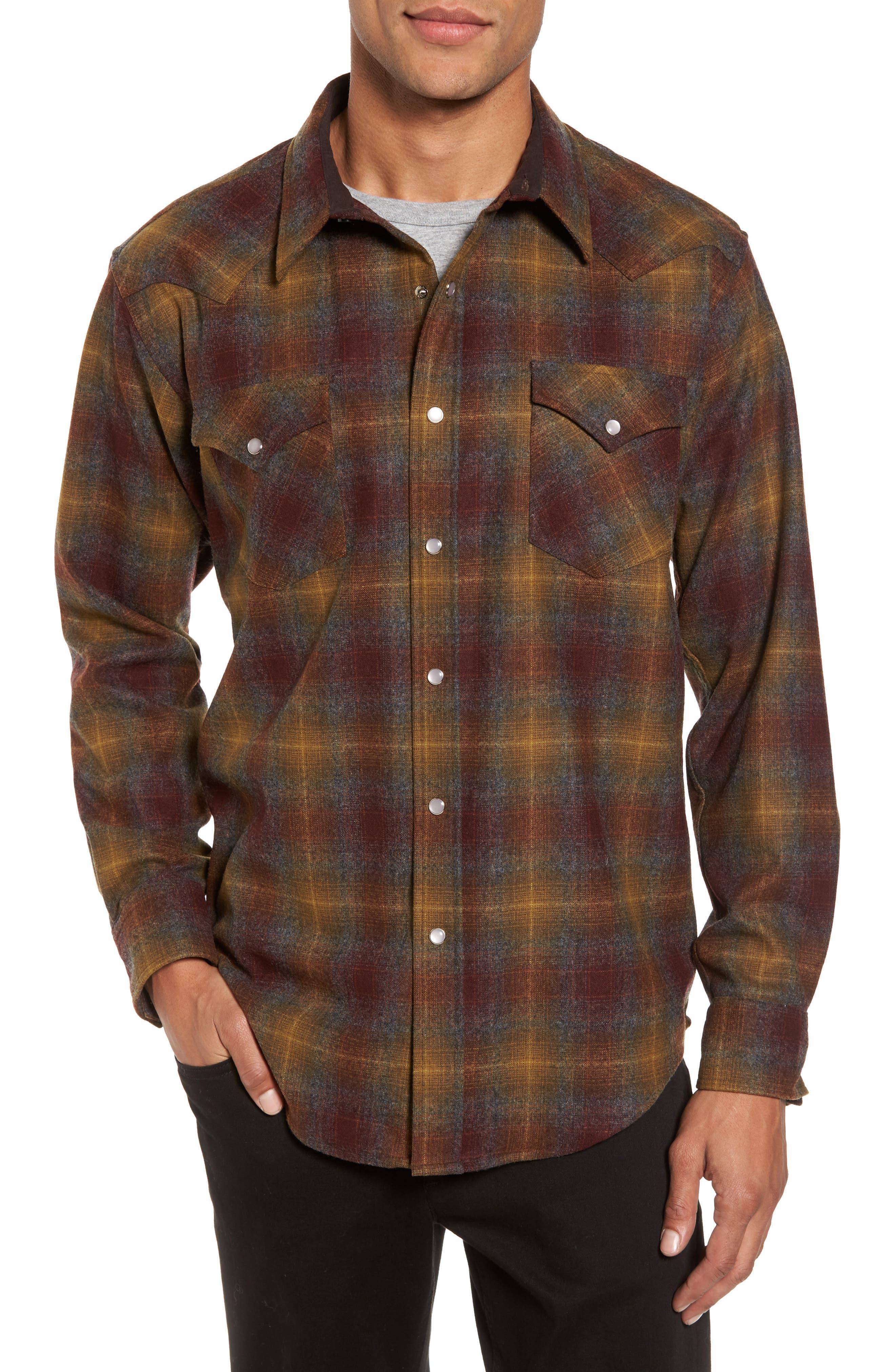Pendleton Canyon Wool Shirt