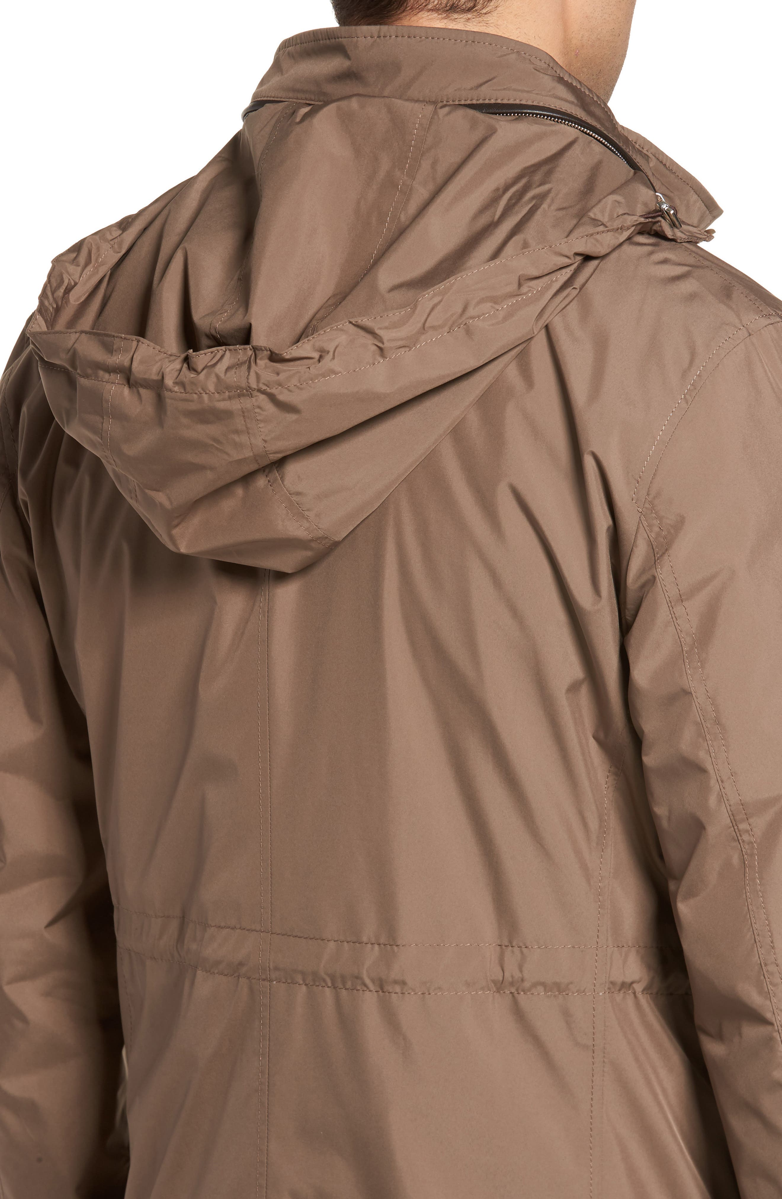 All Weather Discovery Jacket,                             Alternate thumbnail 4, color,                             Dune Surf