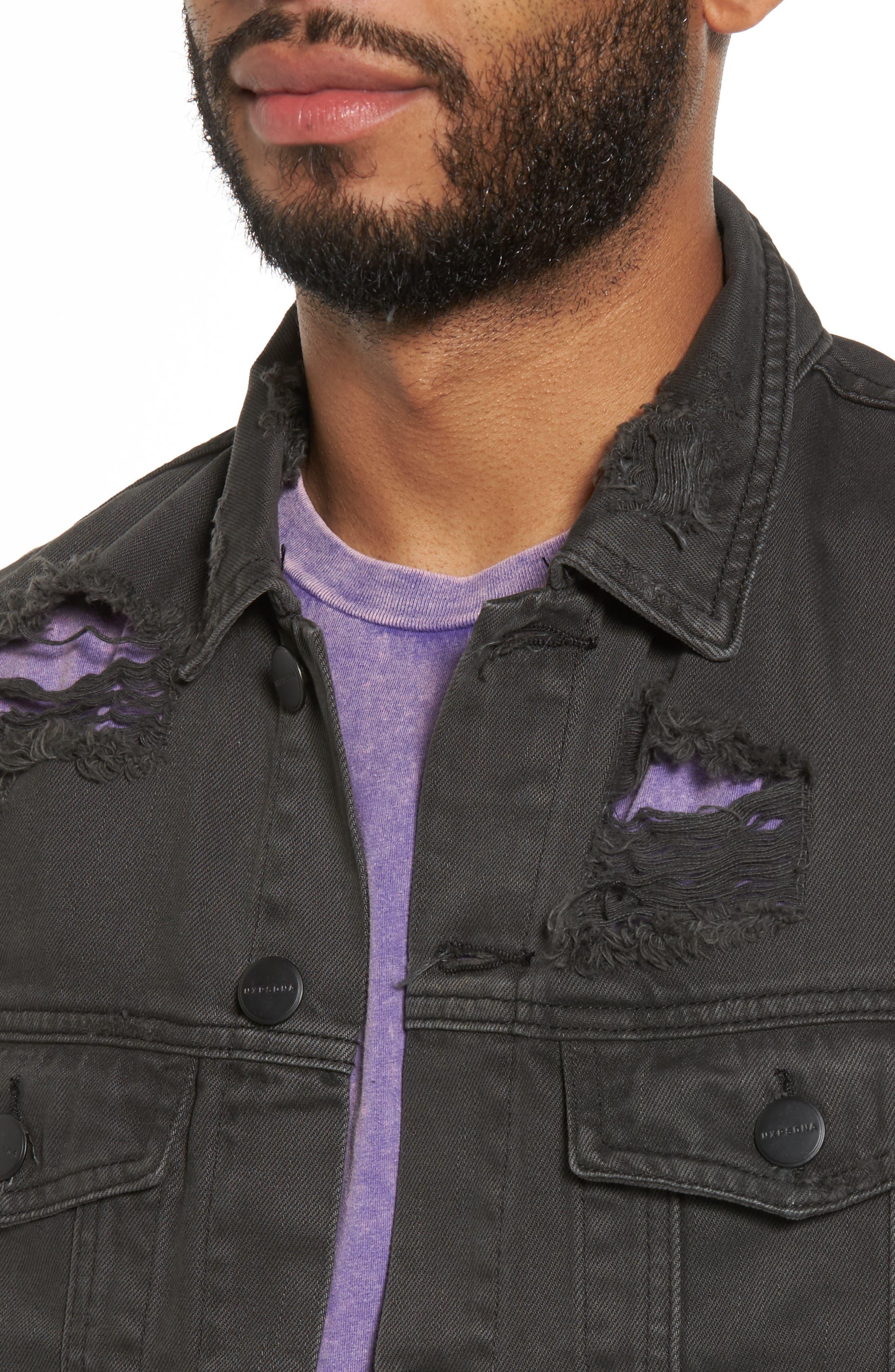 Alternate Image 4  - NXP Norge Denim Jacket