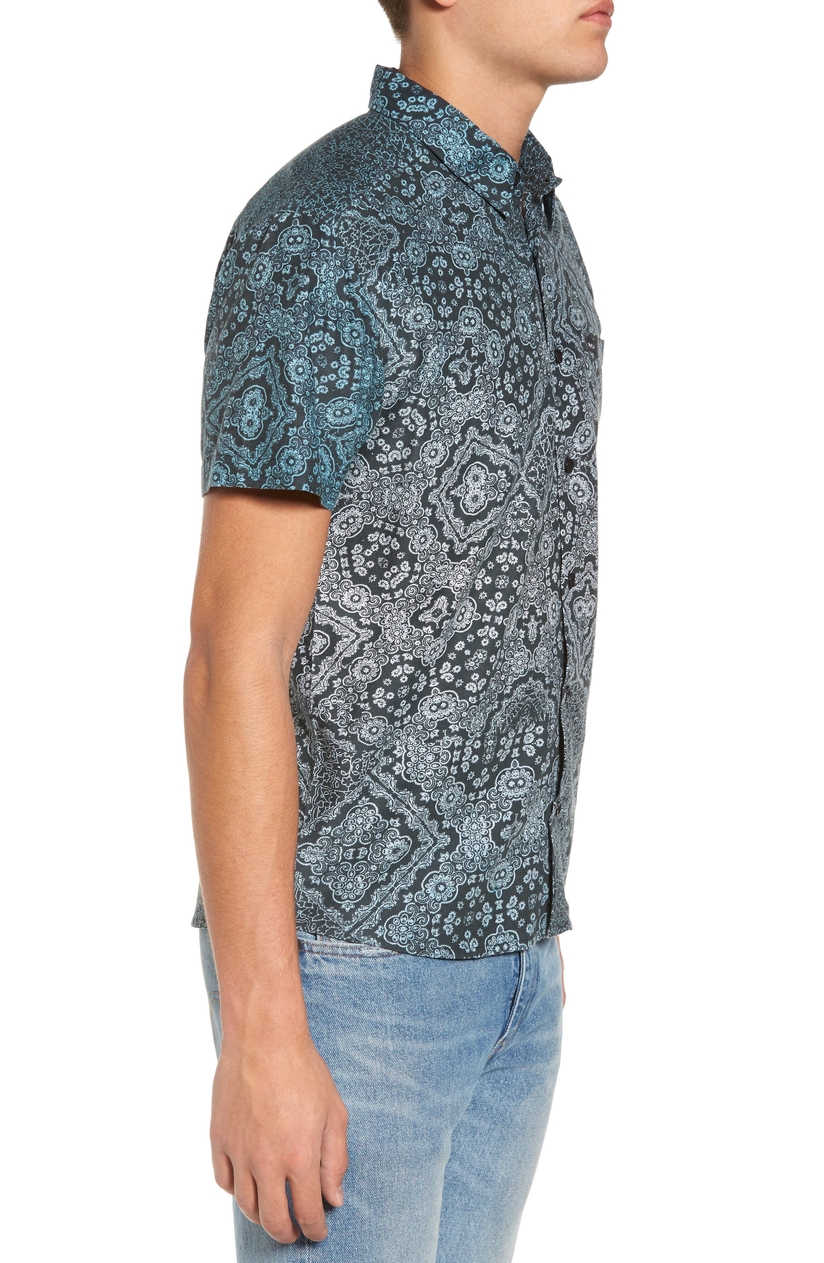 Alternate Image 3  - RVCA I Like It Print Shirt