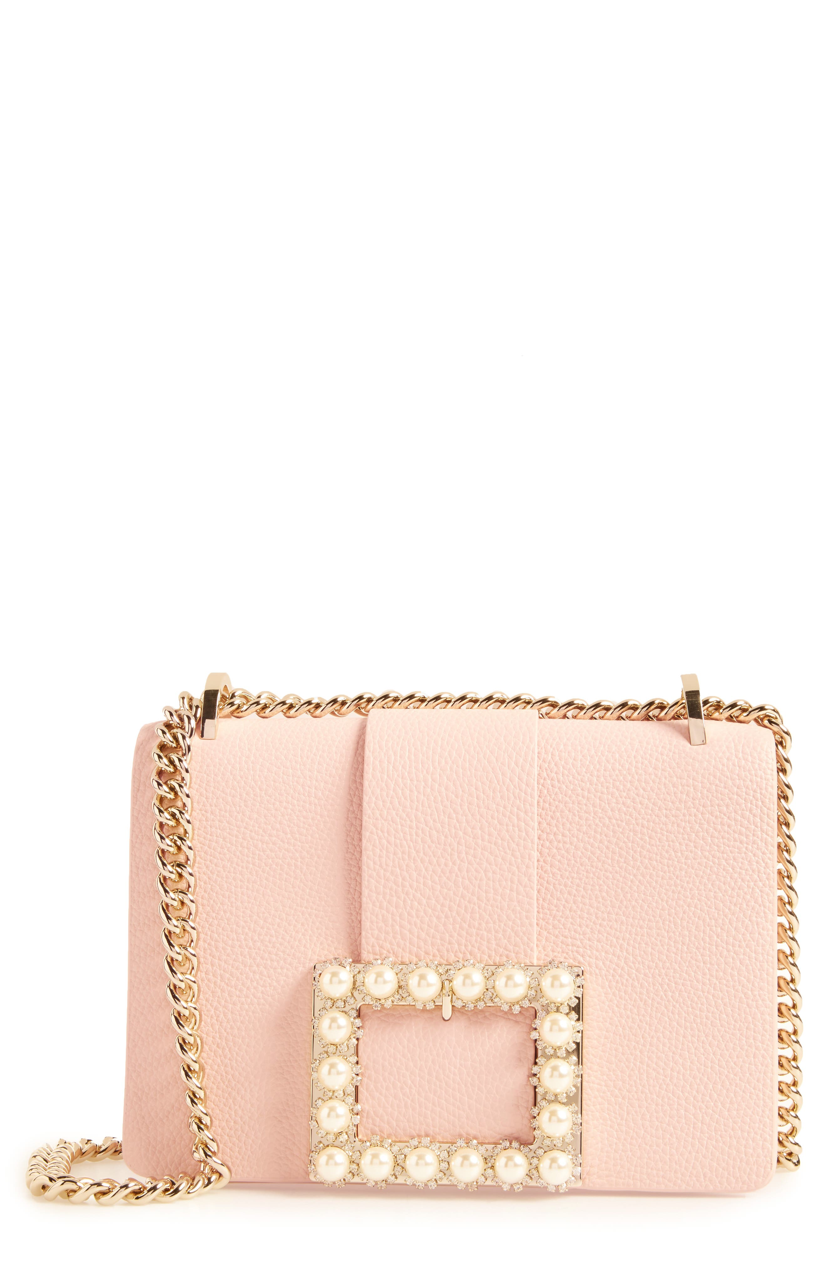 madison knollwood drive - buckle marci leather shoulder bag,                             Main thumbnail 1, color,                             Dolce
