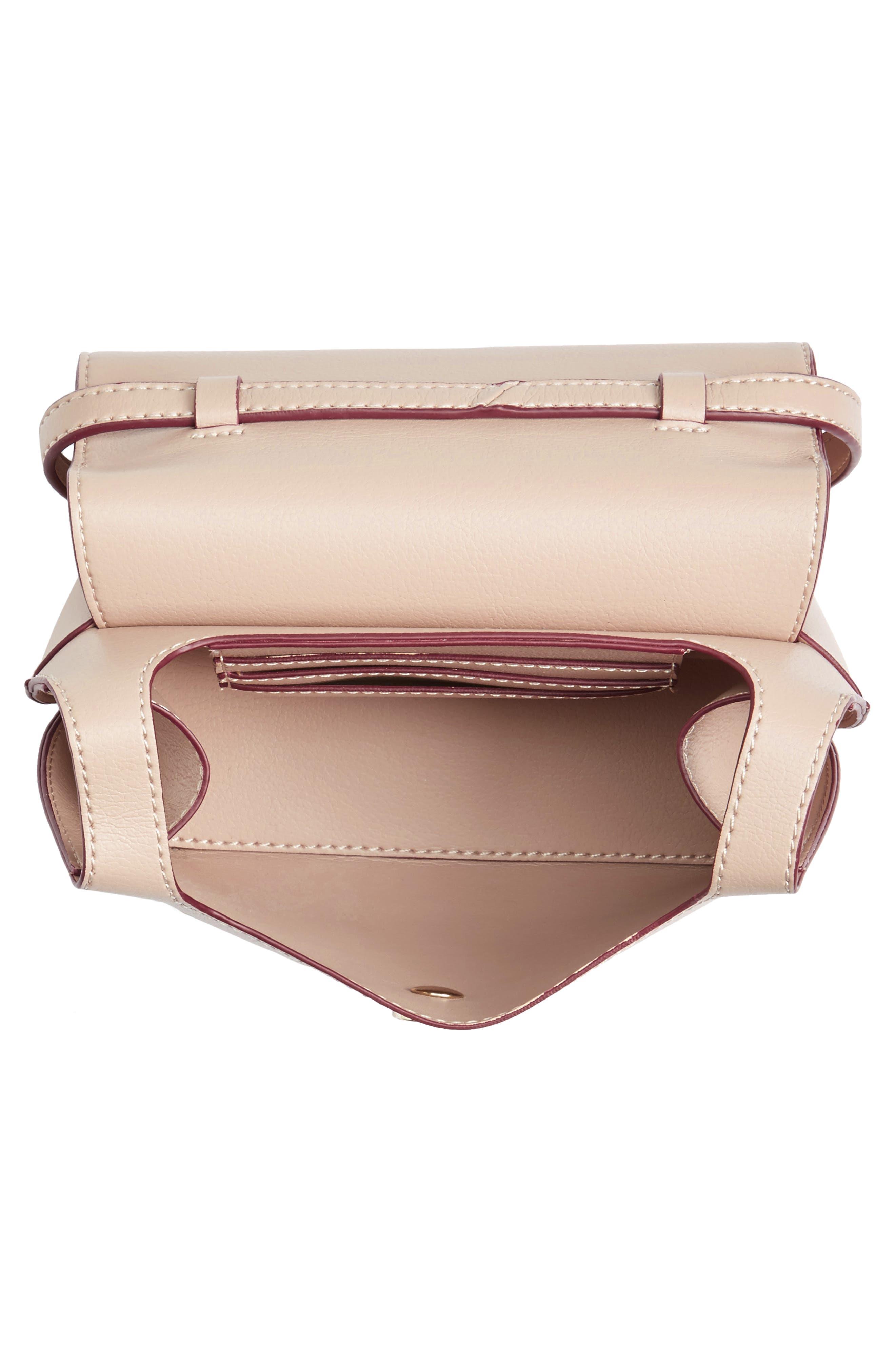 Mini Chino Crossbody Bag,                             Alternate thumbnail 4, color,                             Blush