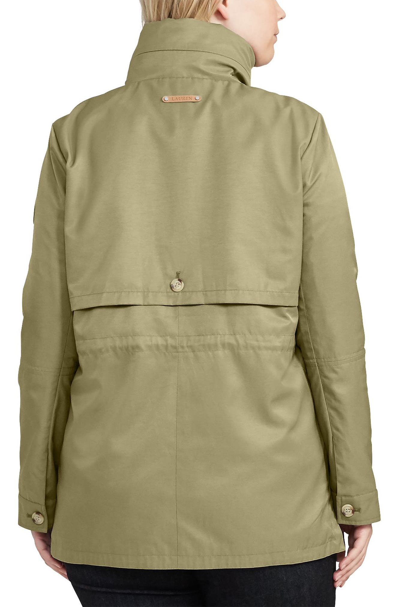 Alternate Image 5  - Lauren Ralph Lauren Hooded Anorak (Plus Size)