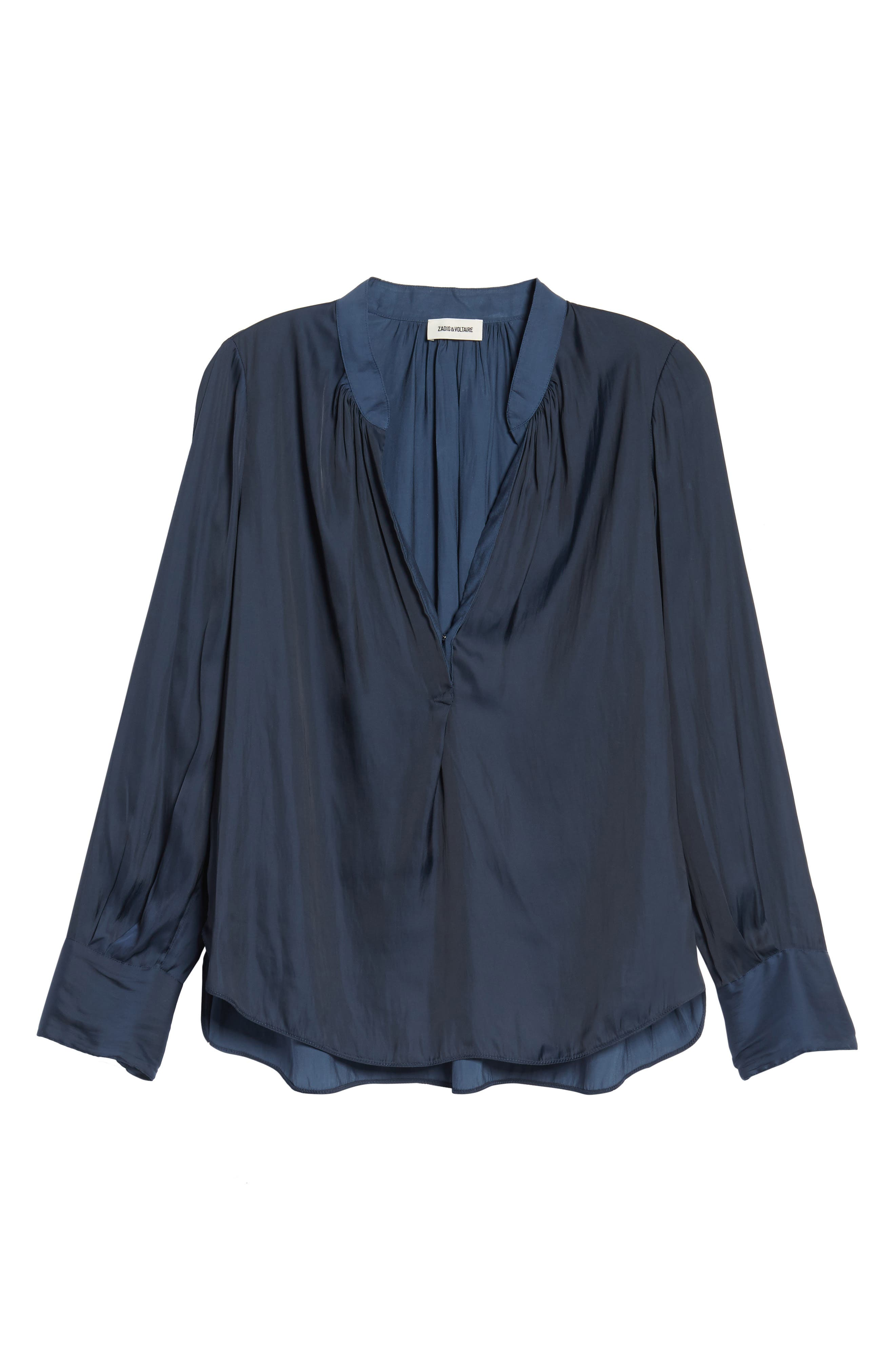Alternate Image 6  - Zadig & Voltaire Tink Blouse
