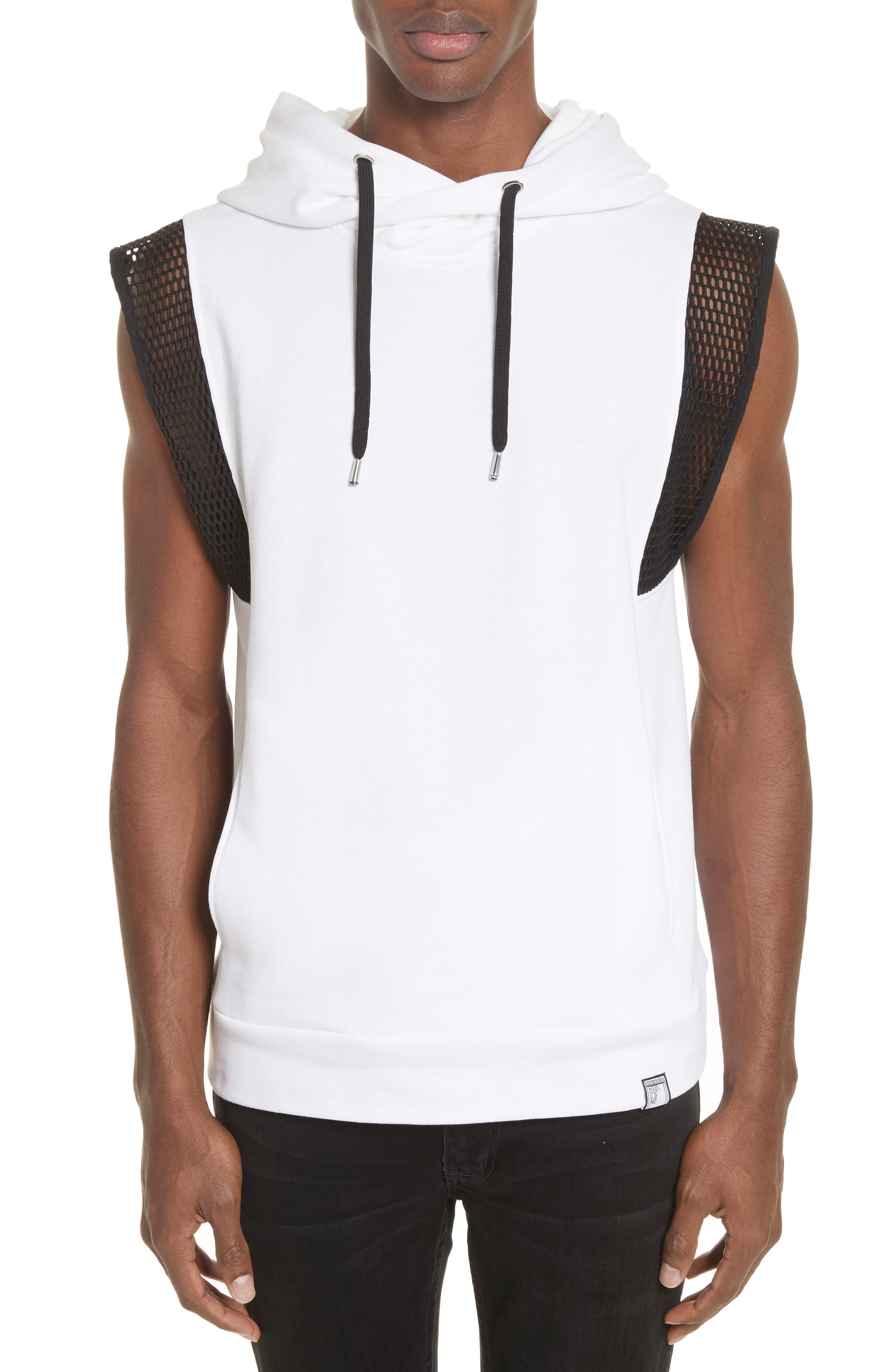 Versace Collection Sleeveless Hoodie