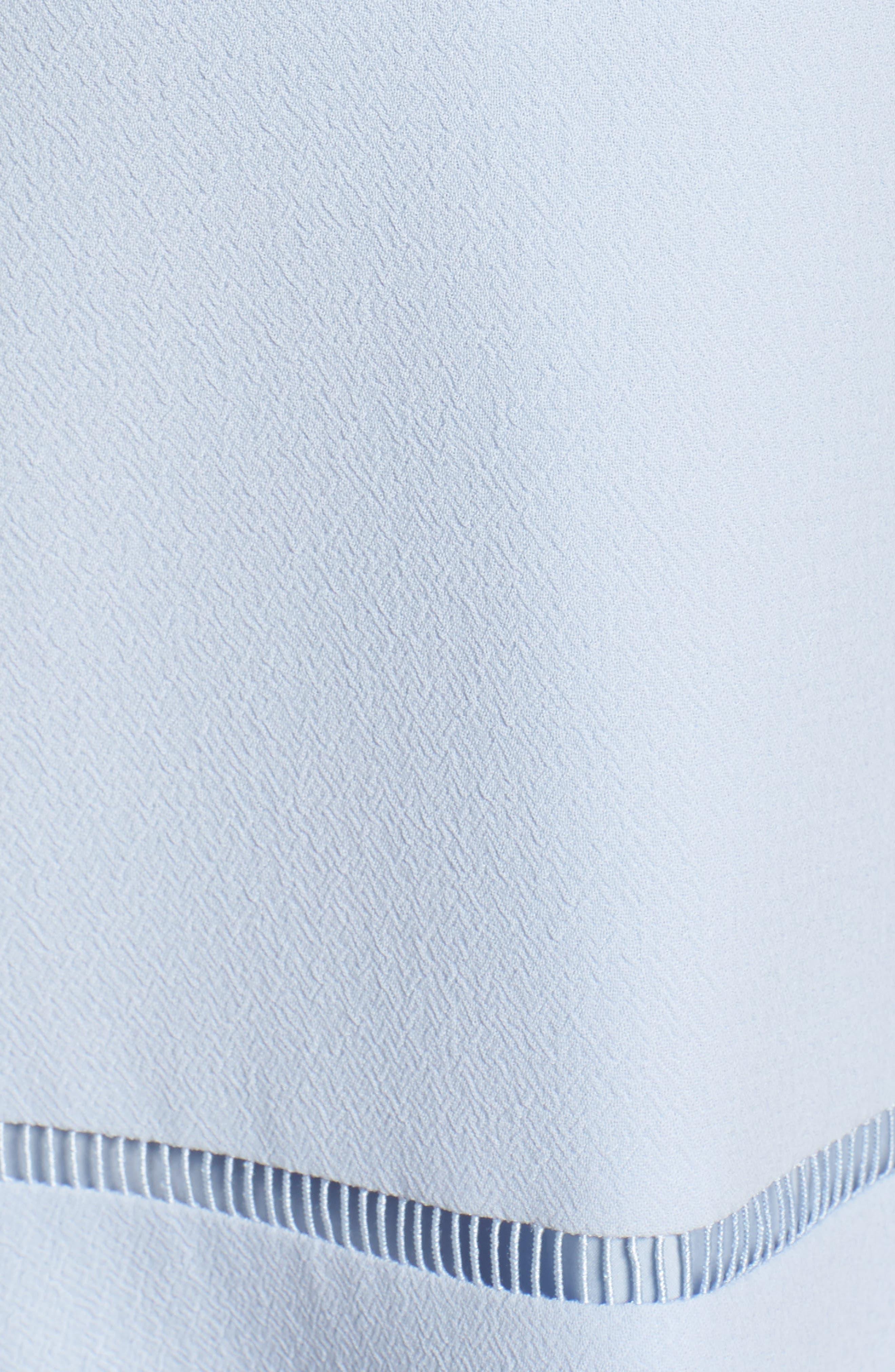 Alternate Image 5  - Eliza J Lace Inset Fit & Flare Dress (Regular & Petite)
